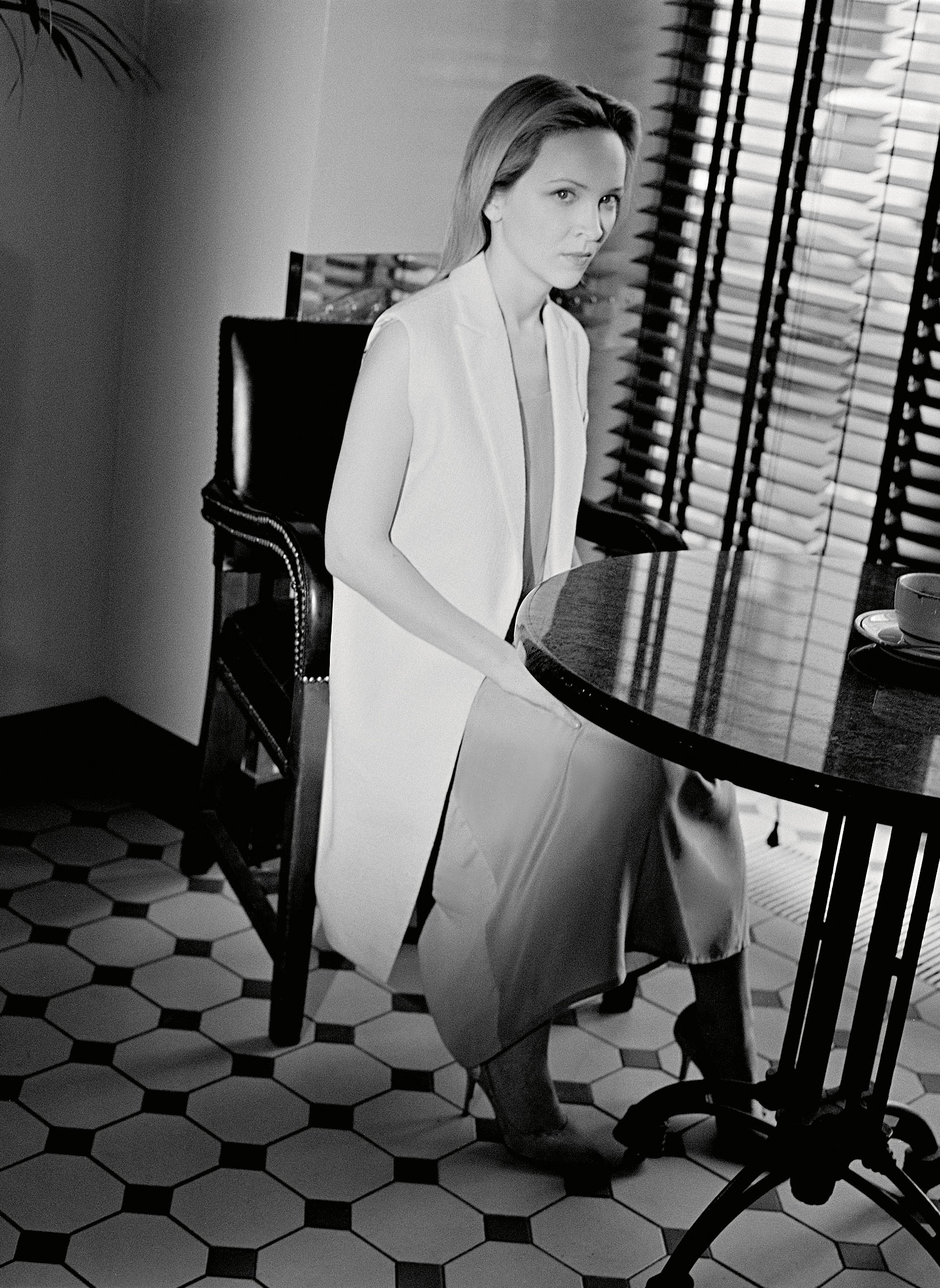 НаНастасье: платье, INSHADE, жилет, BRUNELLO CUCINELLI туфли, A. TESTONI
