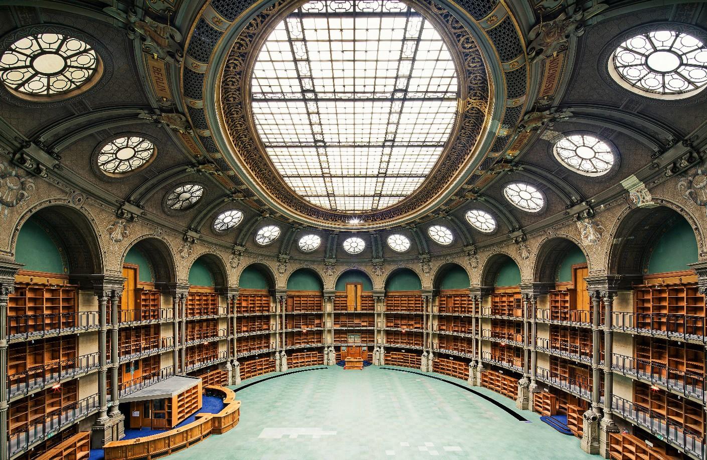 Фото: Тибо Пуарье, Biblioteque Nationale, Париж