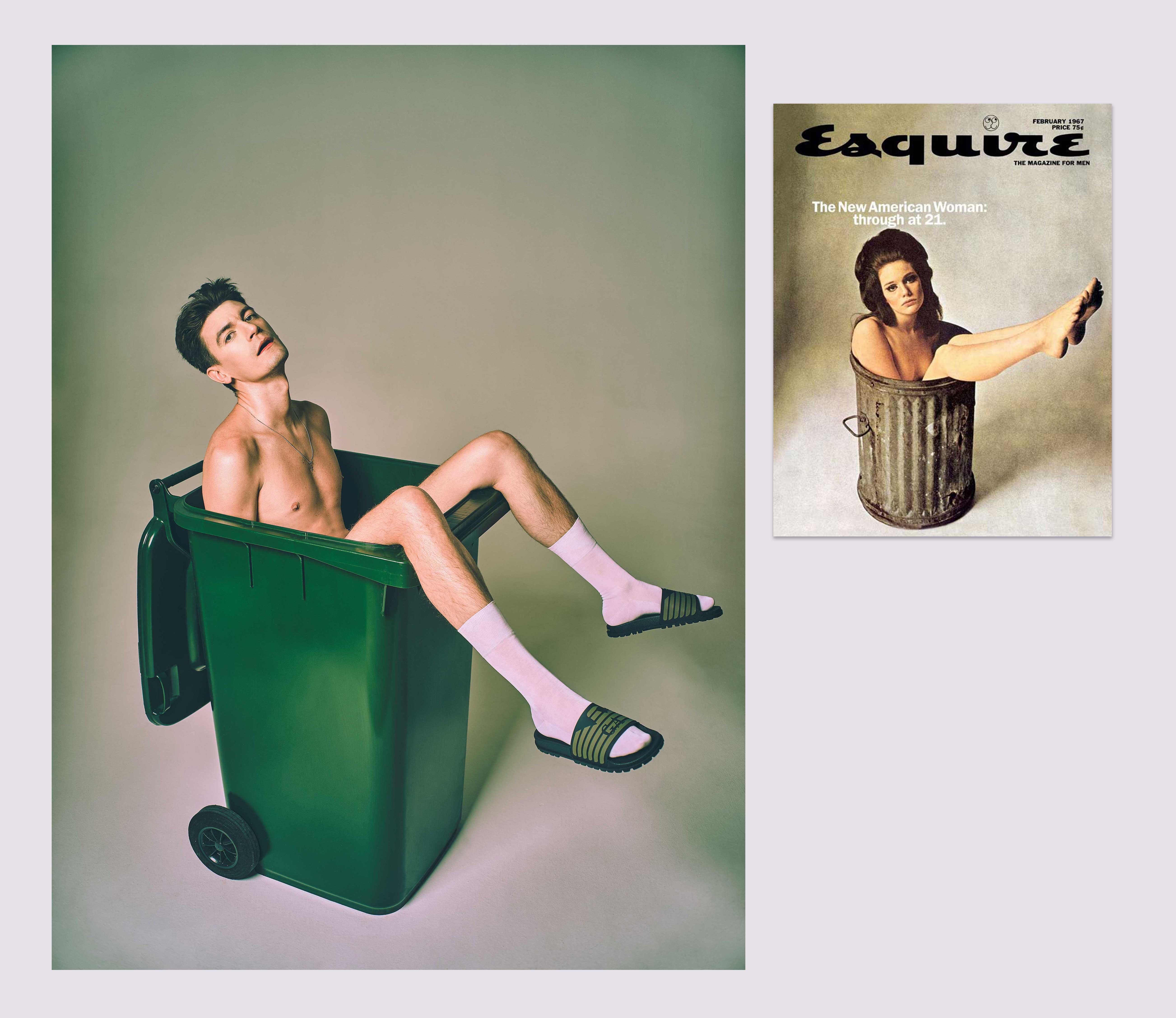 1967 год «Новая американская женщина: выбросить в21» – обложка февральского номера американского Esquire.