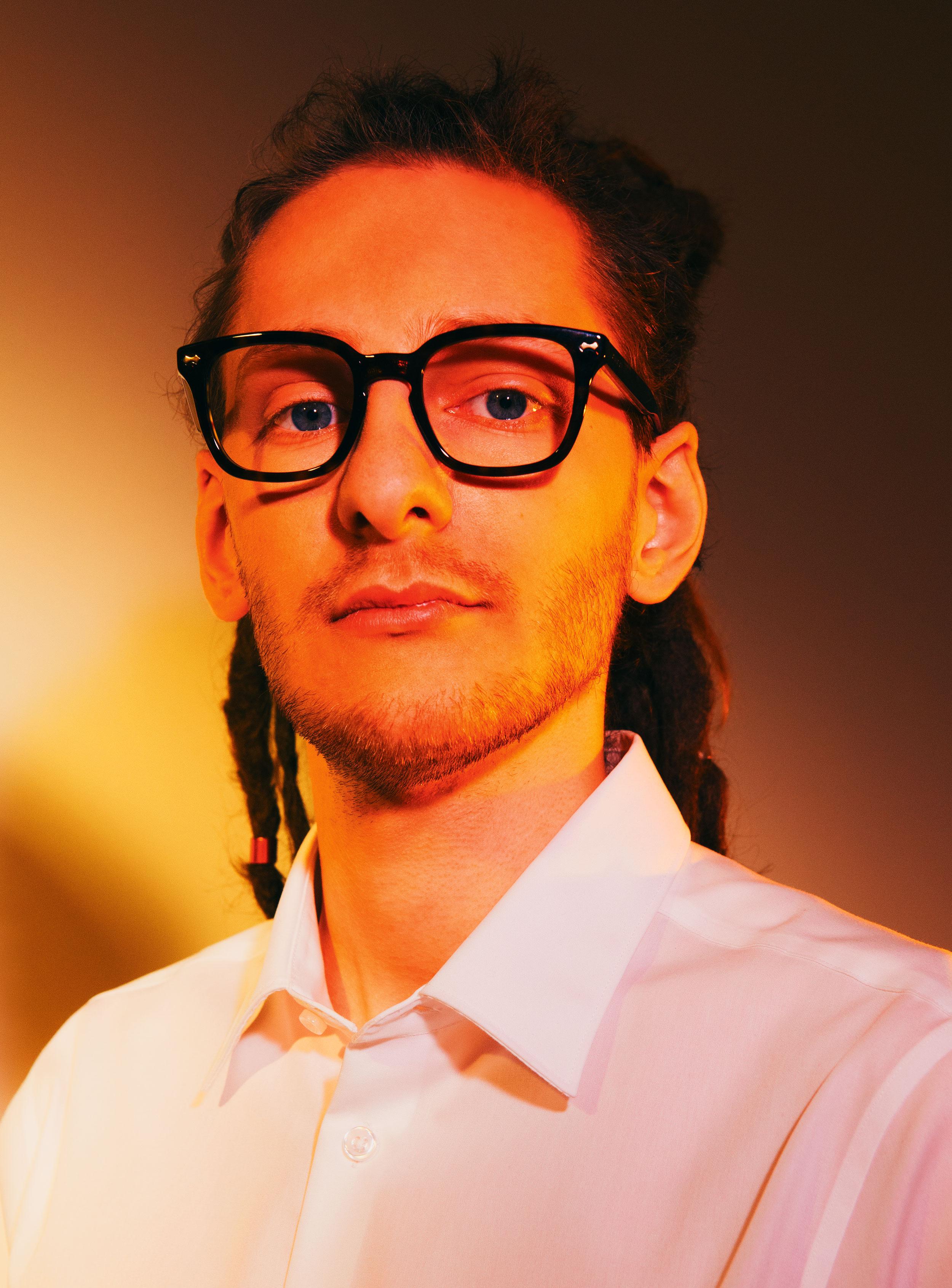 Майка ирубашка Henderson, очки Gucci