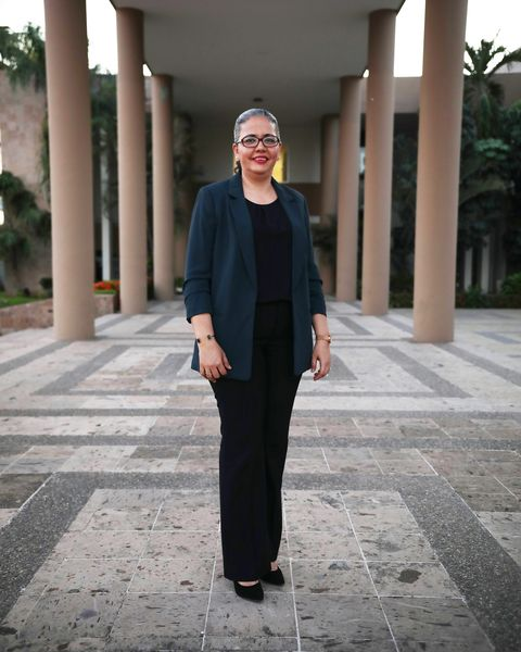 Graciela Dominguez Nava, a first term congresswoman and a member of AMLO's Morena party.