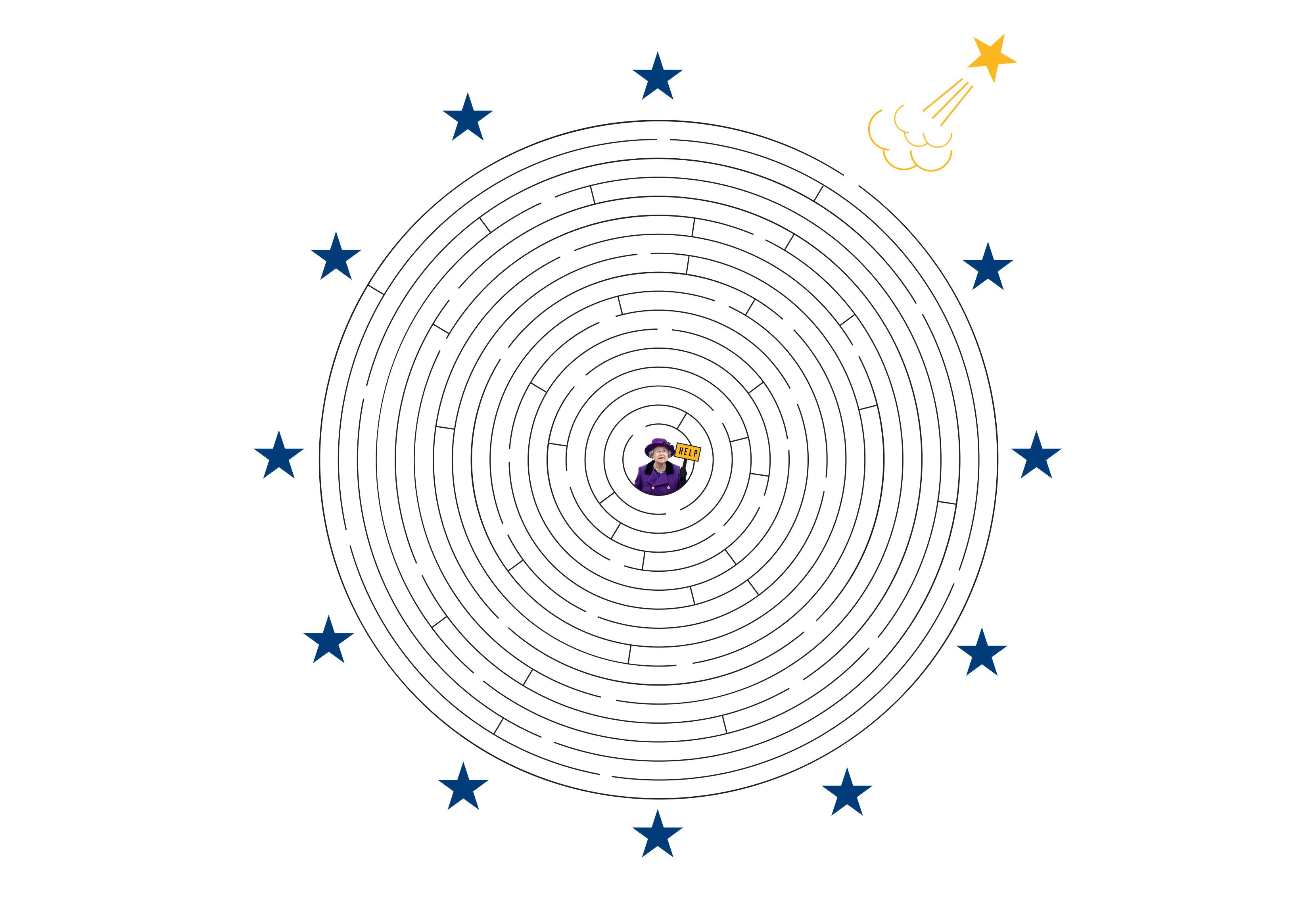 Игра Esquire «Помоги Великобритании выйти изЕвросоюза»