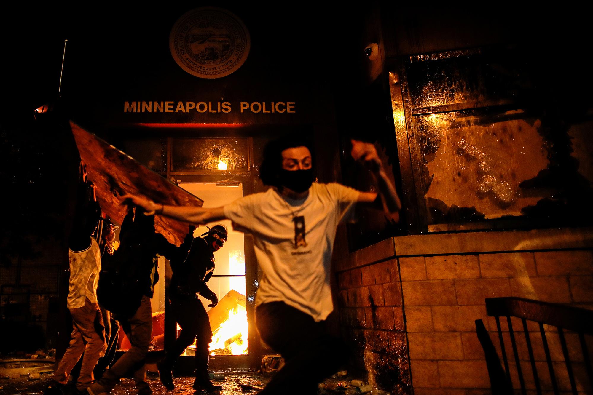 Полицейский участок вМиннеаполисе.