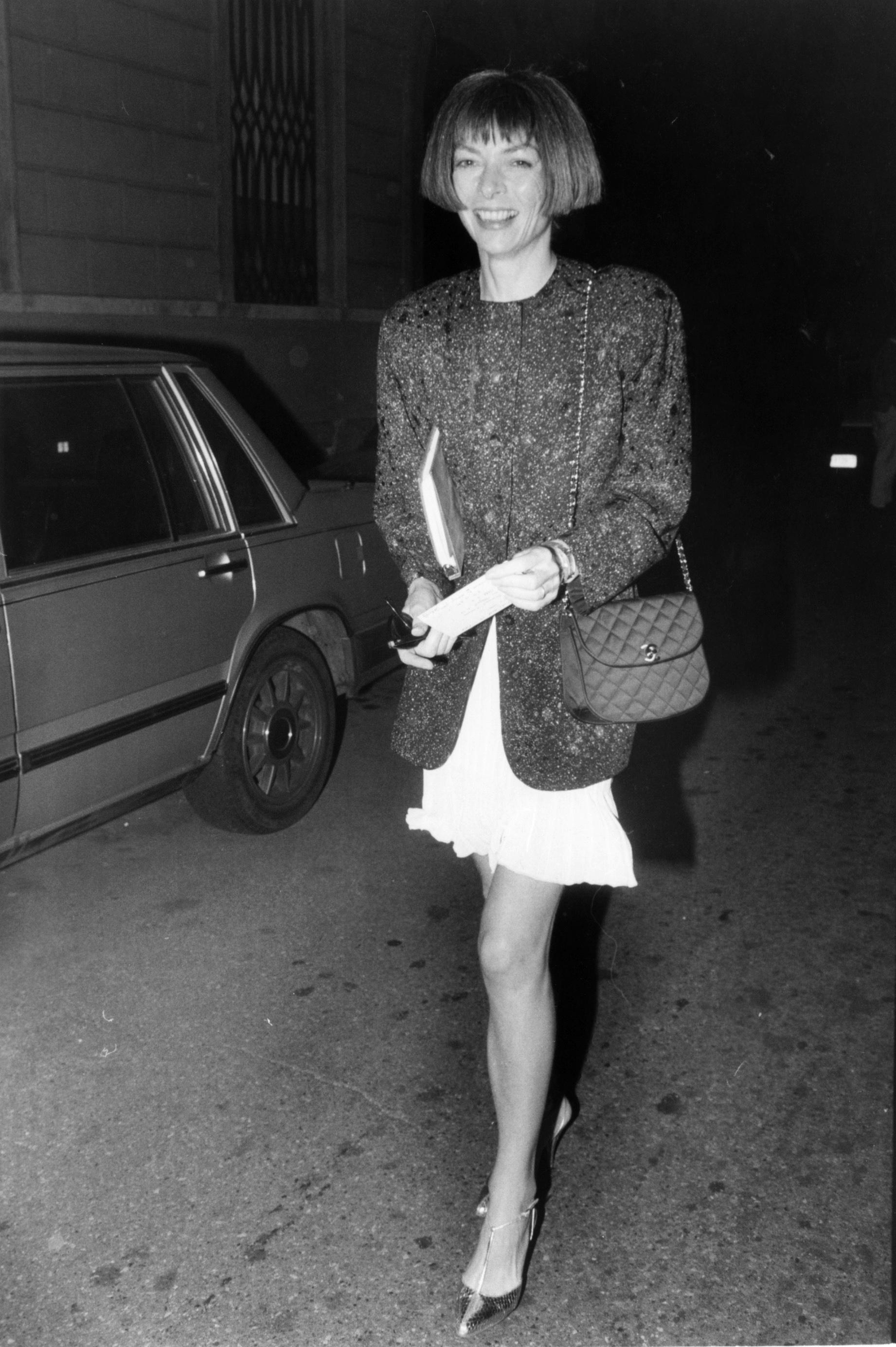 Анна Винтур вобъективе Каннингема, 1988