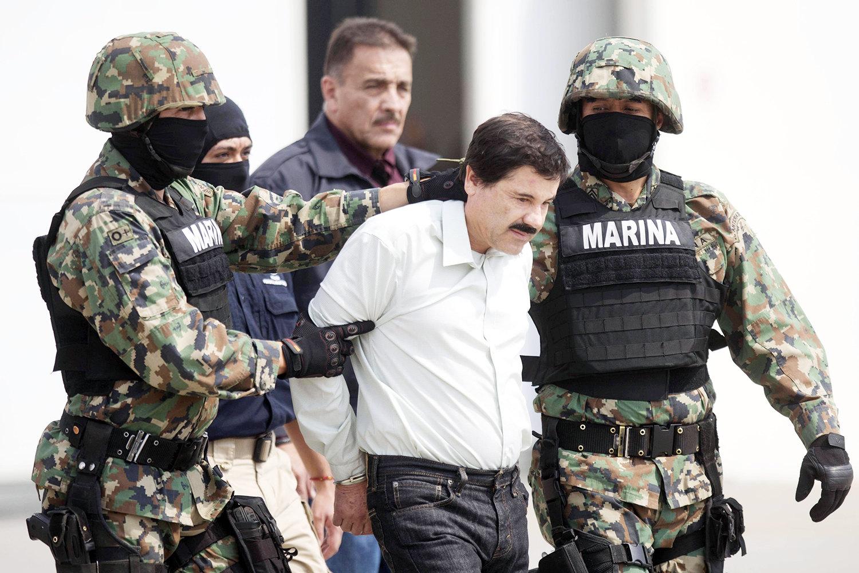 Задержание Эль Чапо вМехико, 22 февраля 2014