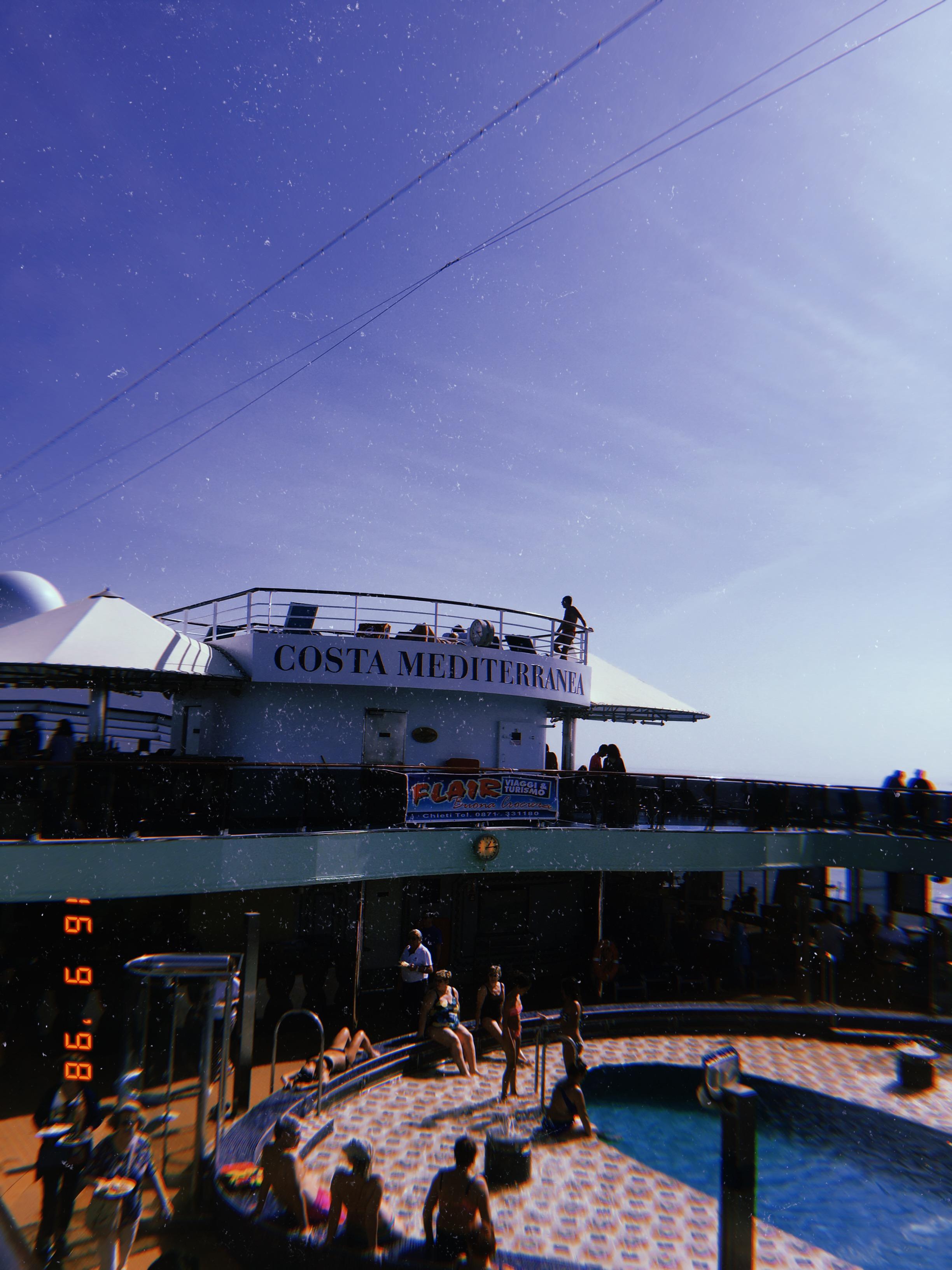 Круизный корабль Costa Meddit
