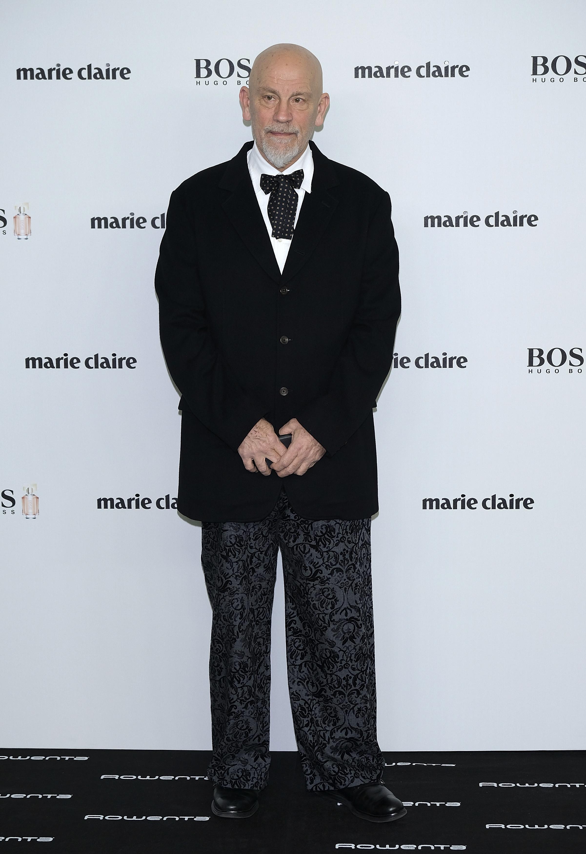 John Malkovich attends the 'Marie Claire Prix De La Moda' awards at Florida Retiro on November 16, 2016 in Madrid, Spain. (Photo by