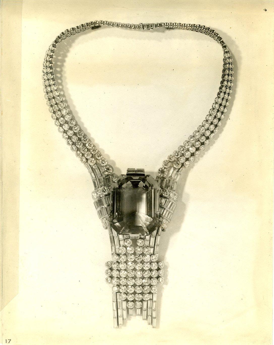 Архивное колье Tiffany
