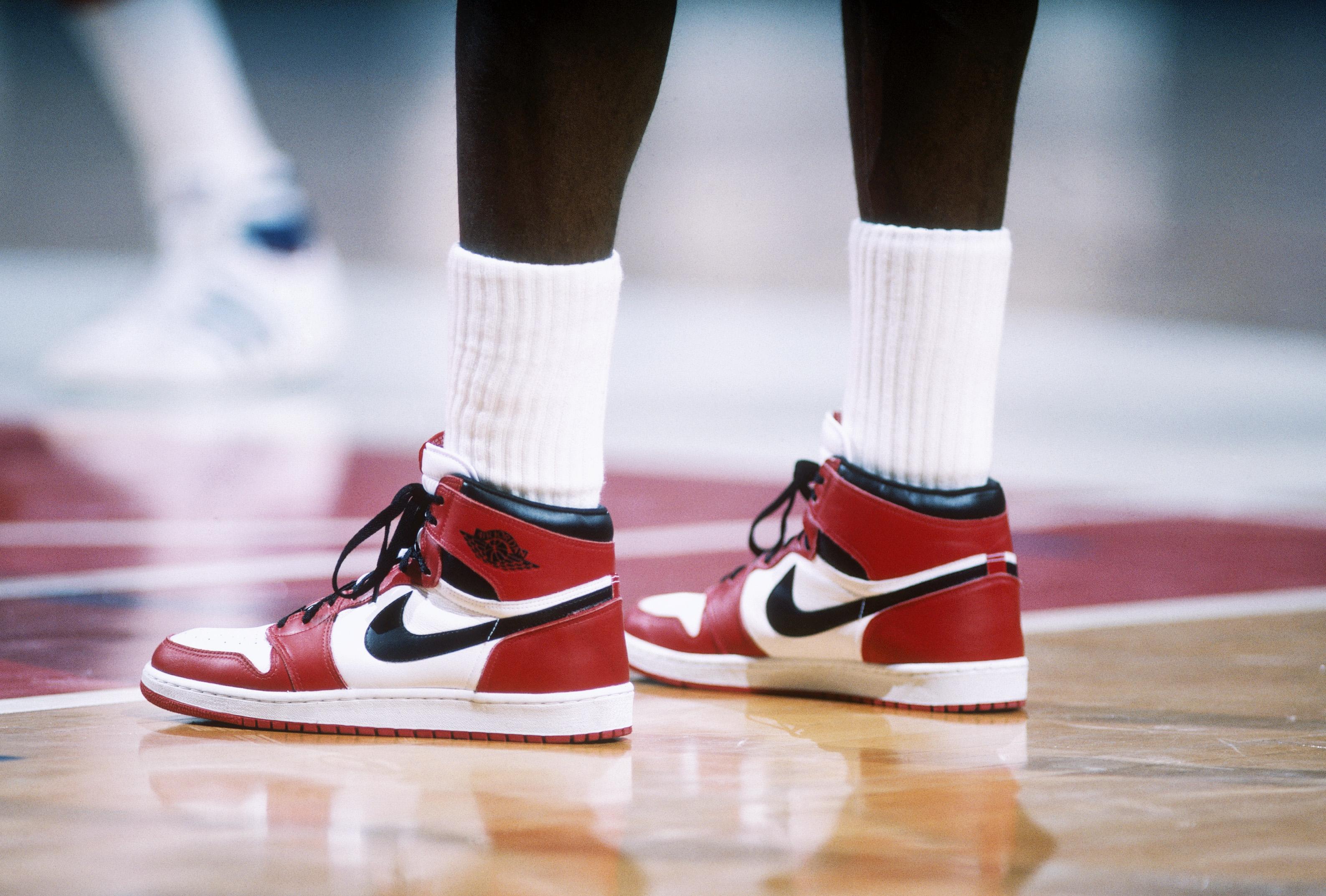 Первые Nike Air Jordan, 1984 год