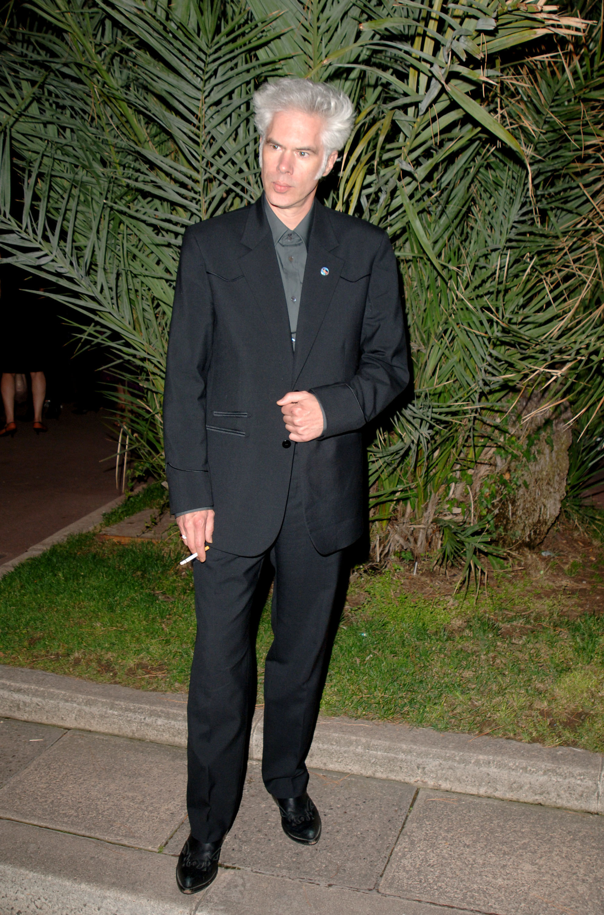 Jim Jarmusch during 2005 Cannes Film Festival - Closing Ceremony Departures at Le Palais de Festivals in Cannes, France. (Photo by