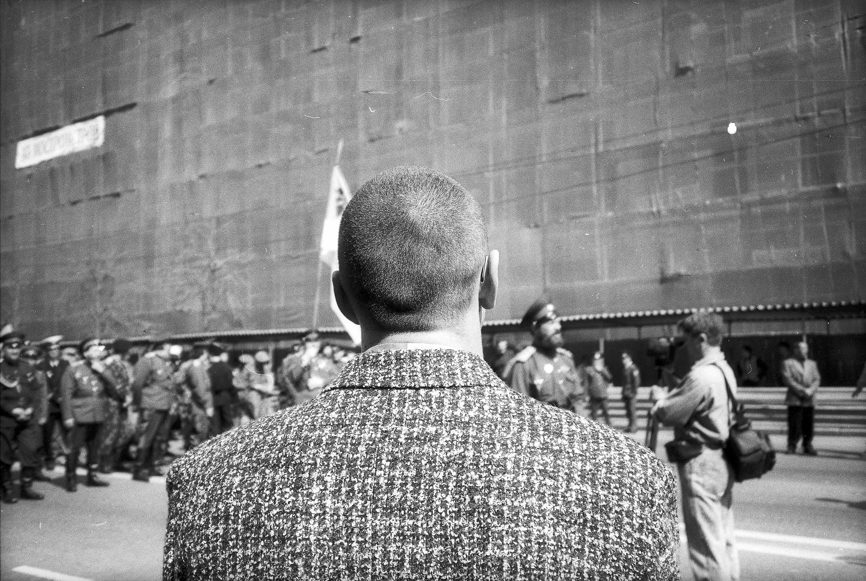 Игорь Мухин. Москва, 1996. Авторизованный серебряно-желатиновый отпечаток.