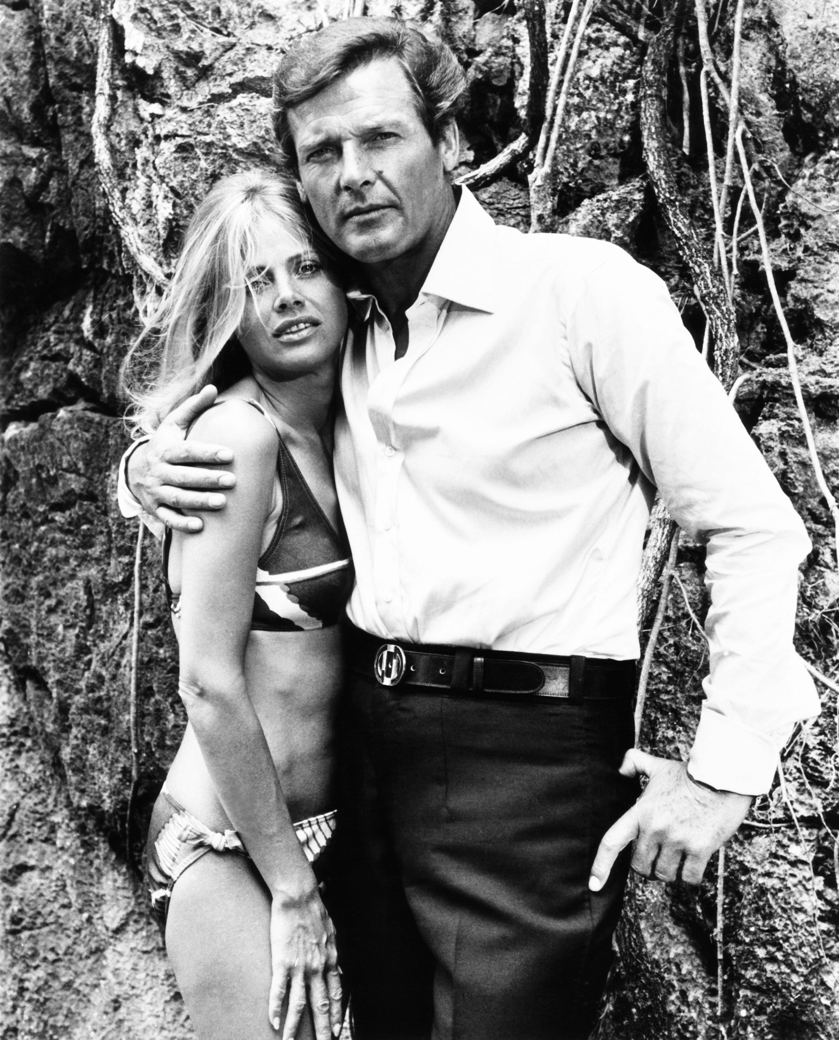 Britt Ekland And Roger Moore In 'The Man With The Golden Gun'