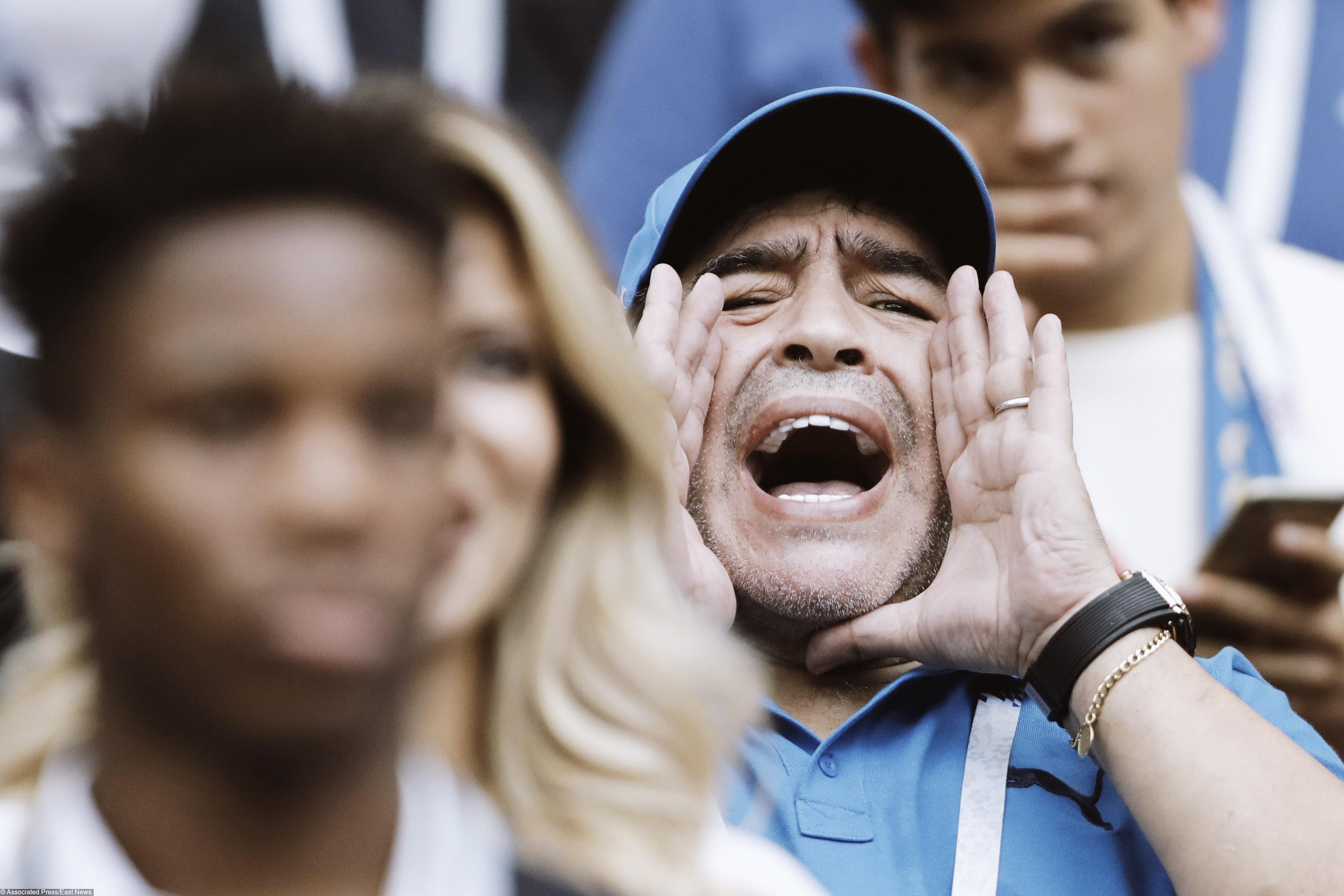 Бывший футболист сборной Арентины Диего Марадона