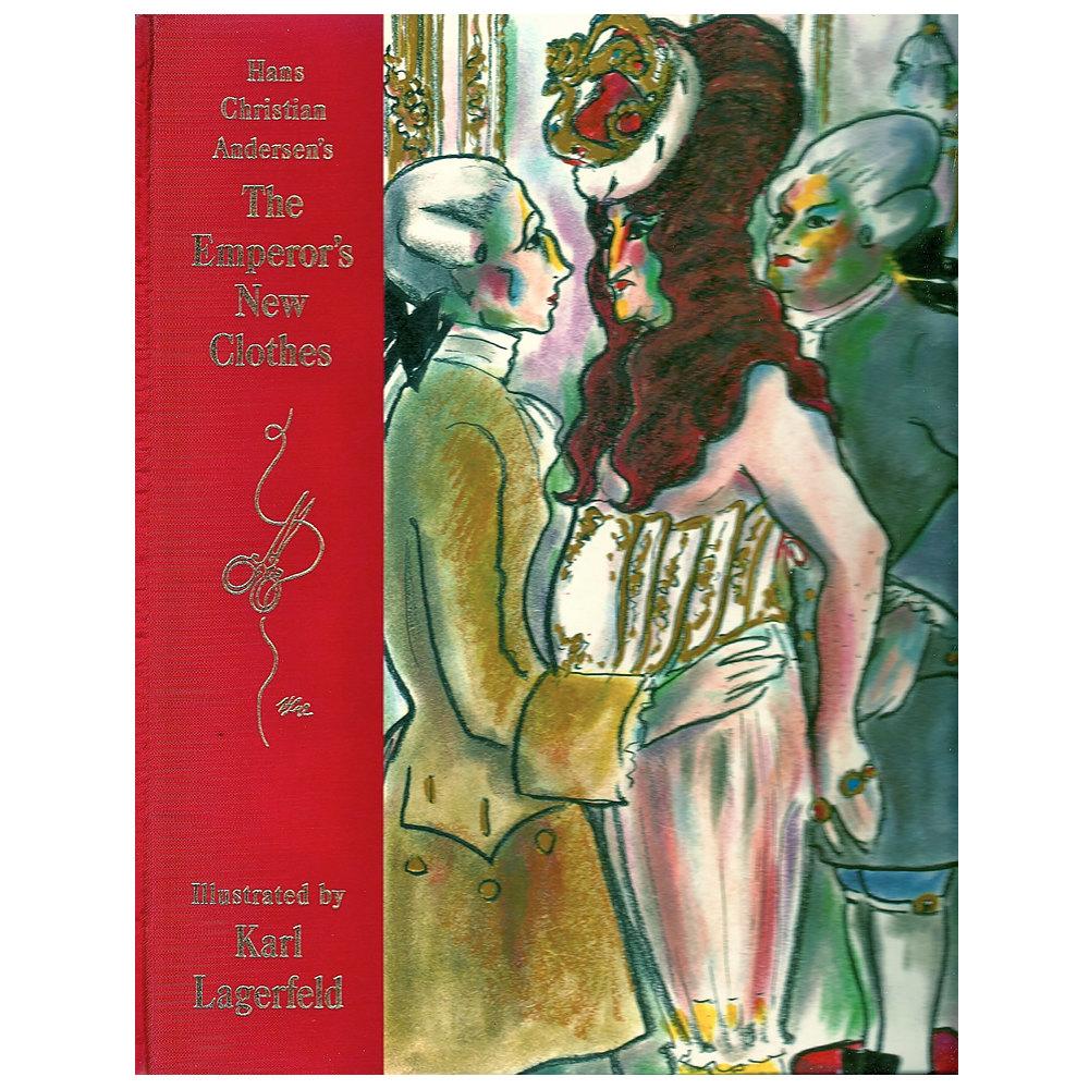 Издание книги «Новое платье короля» силлюстрациями Карла Лагерфельда, 1997
