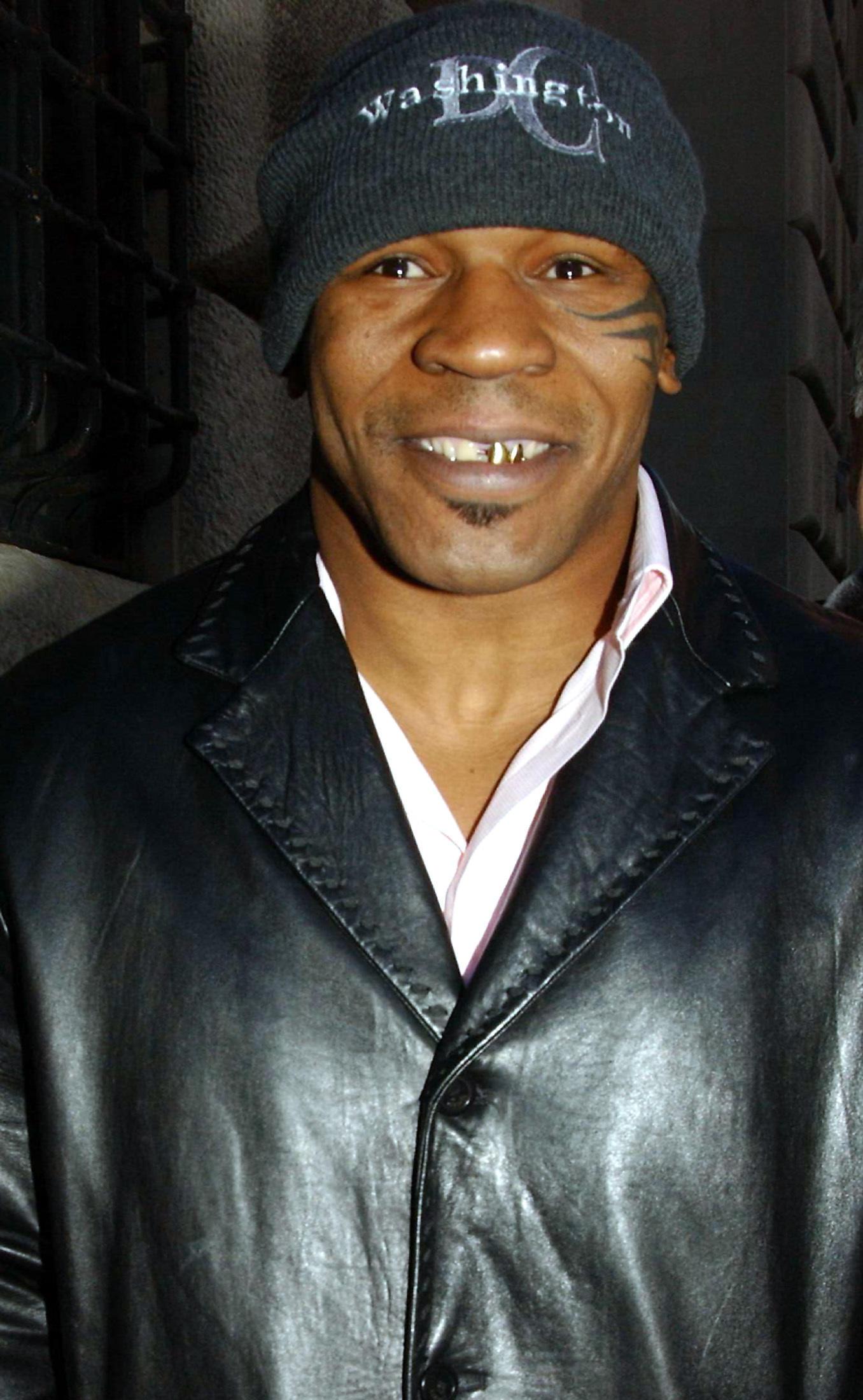 Майк Тайсон в2004 году