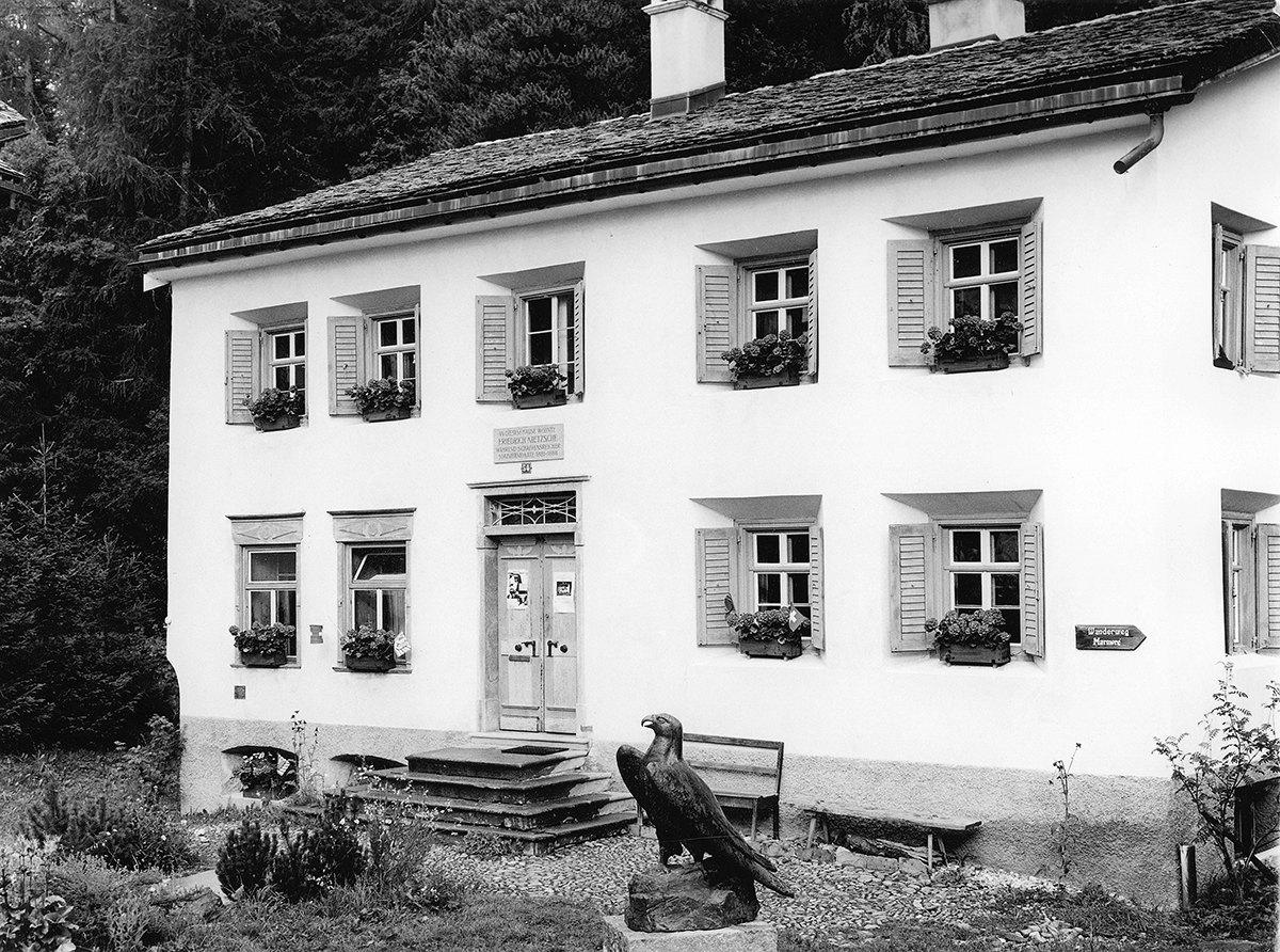 В этом доме вЗильс-Марии жил Фридрих Ницще