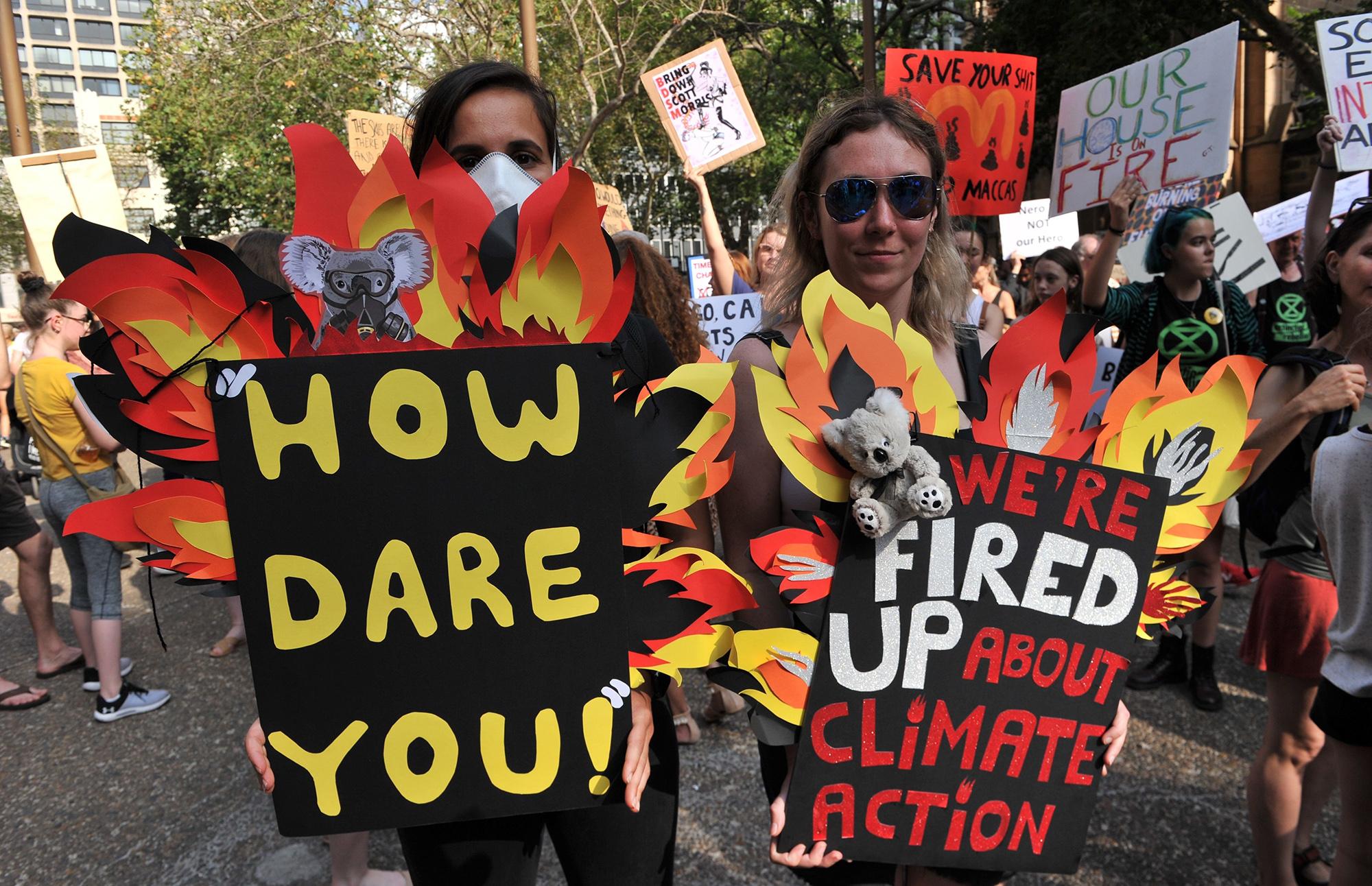 Участники эко-протеста наакции