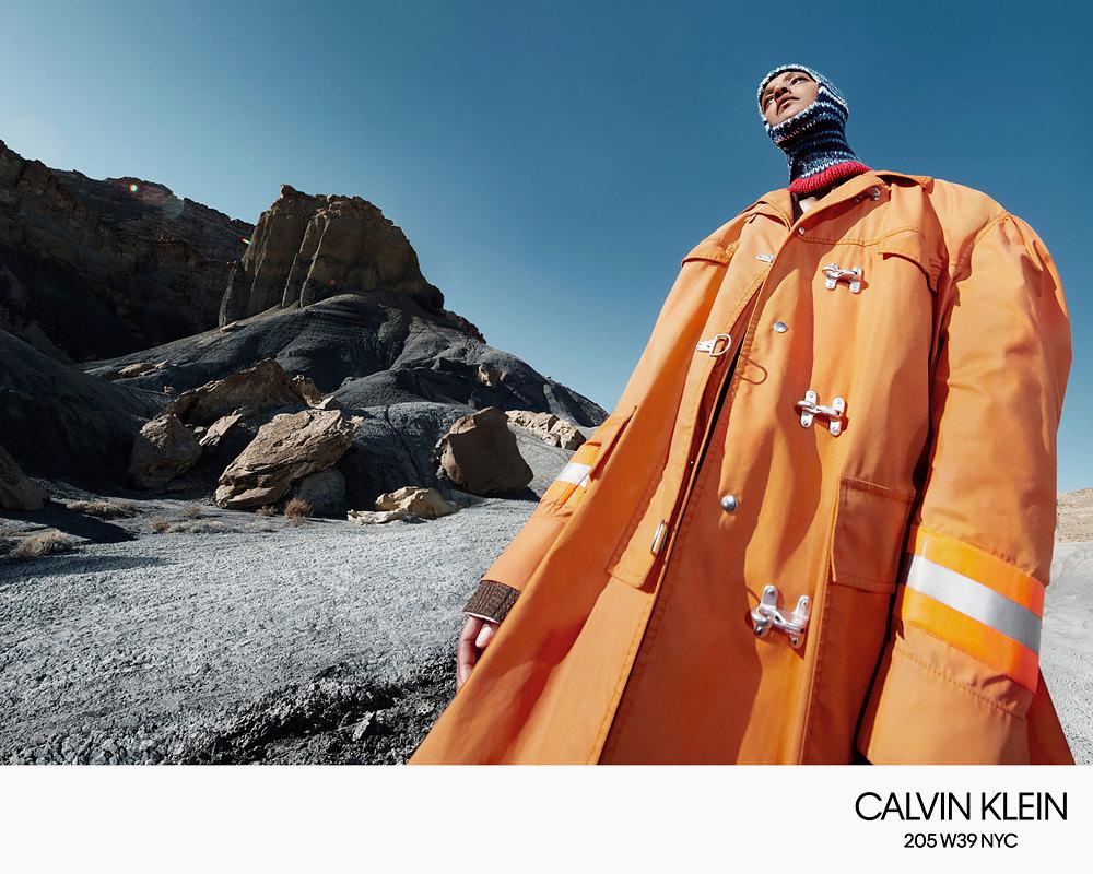 Рекламная кампания Calvin Klein осень-зима 2018 / Willy Vanderperre