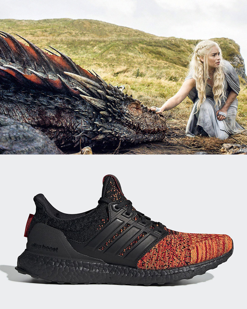 "Дейенерис Таргариен и adidas Ultra Boost ""House Targaryen"""