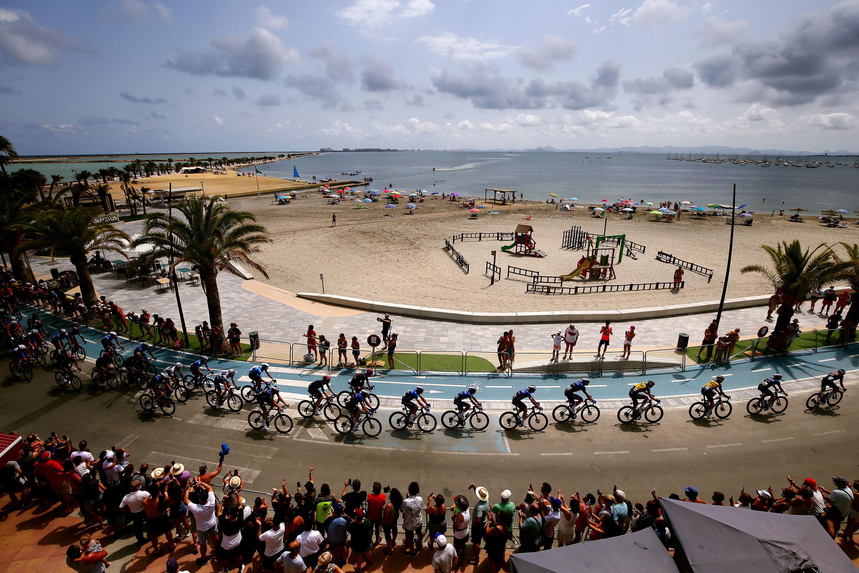 76-го тура Испании 2021, 8-й этап, этап длиной 173,7 км отСанта-Пола доЛа-Манга-дель-Мар-Менор