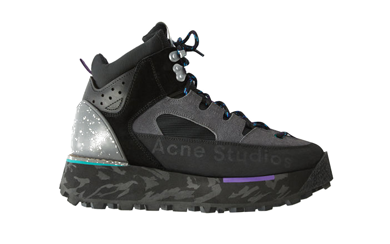 Acne Studios Trekking boots, $700