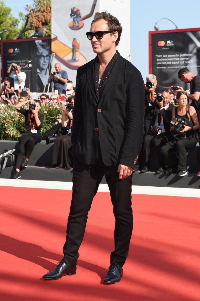 На Венецианском кинофестивале, сентябрь 2019