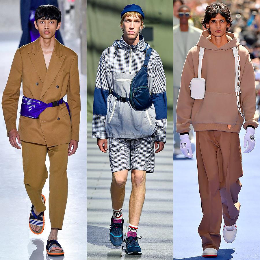 Dries Van Noten, Junya Watanabe, Louis Vuitton весна-лето 2019