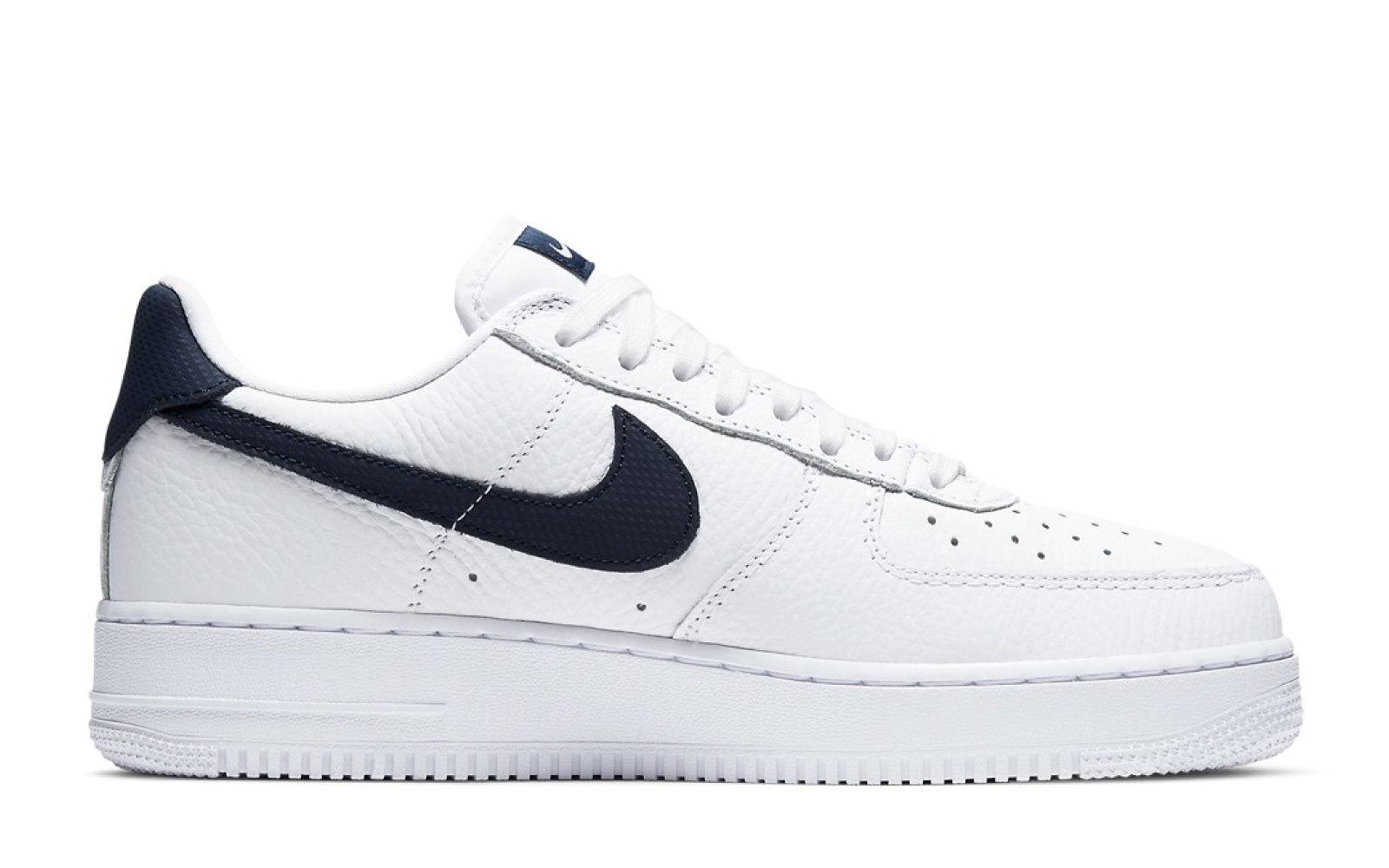 "Nike Air Force 1 Craft ""White/Obsidian"""