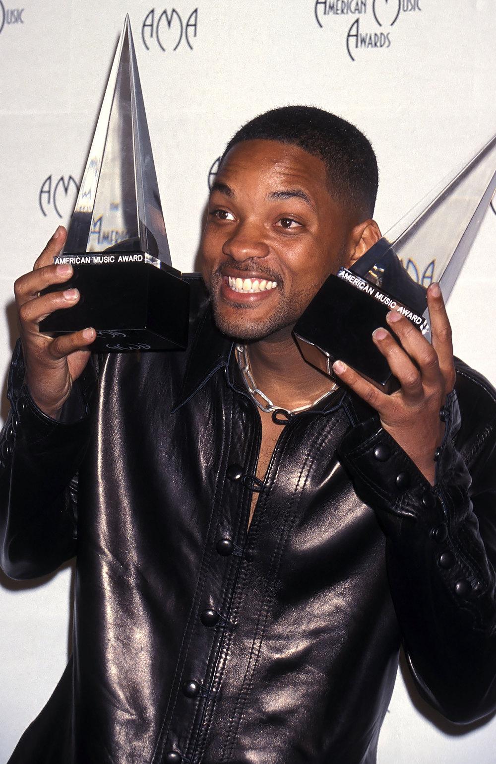 Уилл Смит наAmerican Music Awards, январь 1999