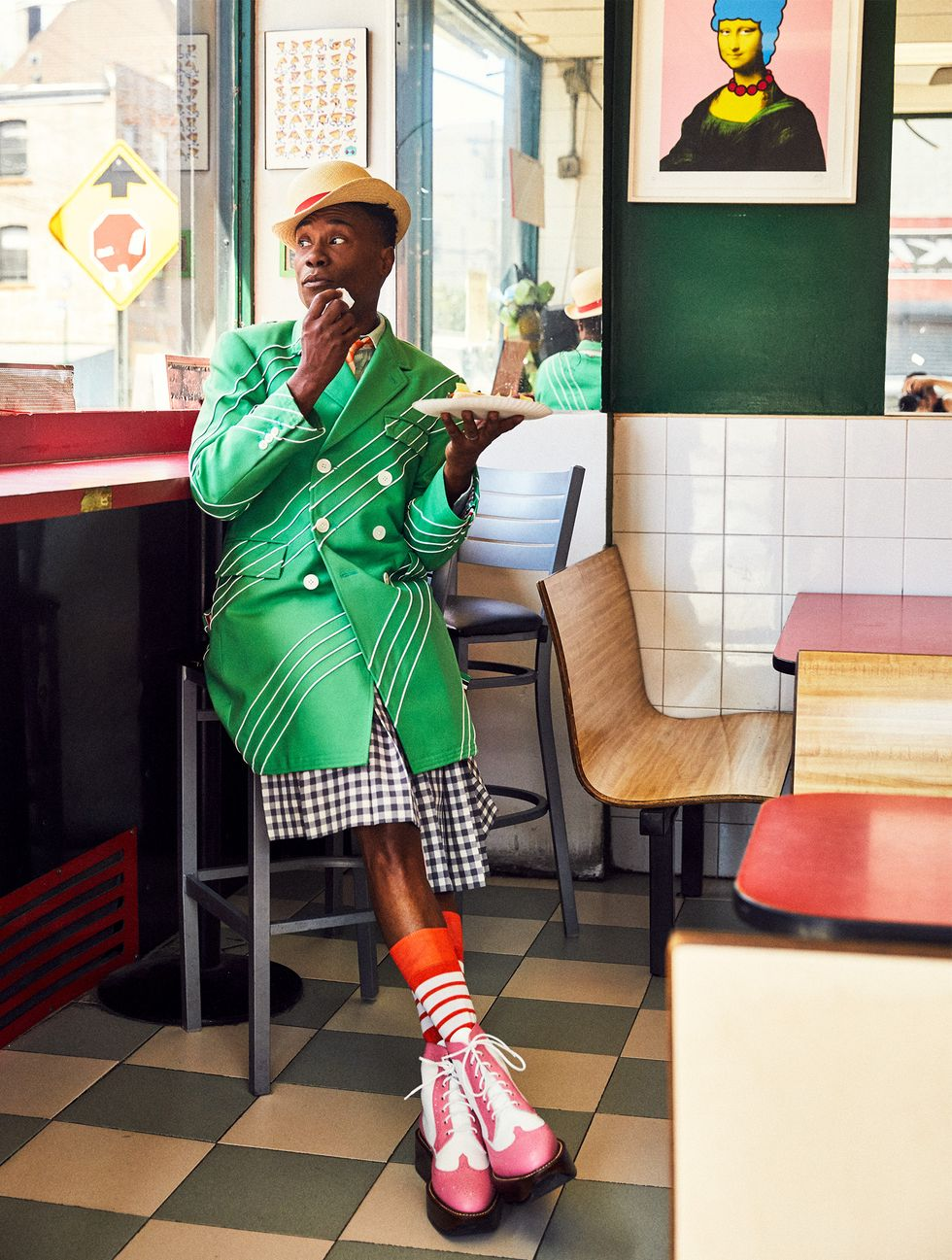 Одежда, носки, шляпа, обувь, все — Thom Browne