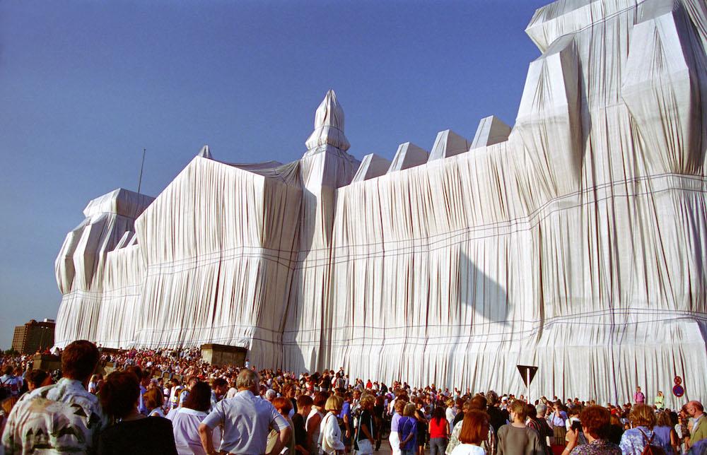 «Упакованный Рейхстаг», 1995