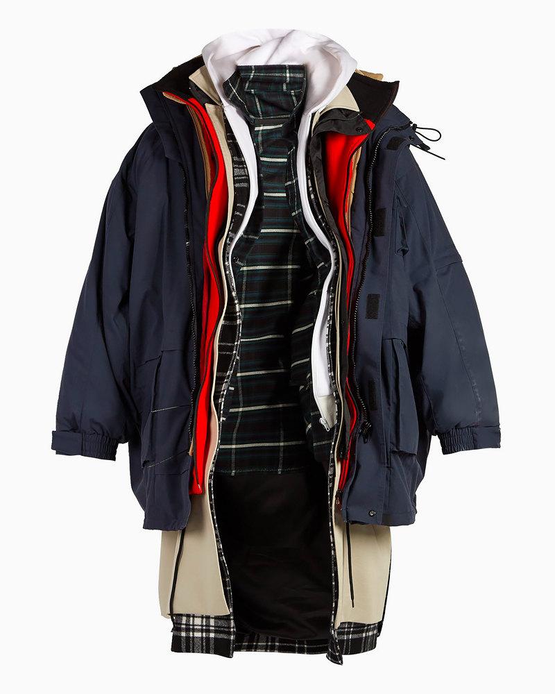 Парка-пальто Balenciaga, 440500 рублей