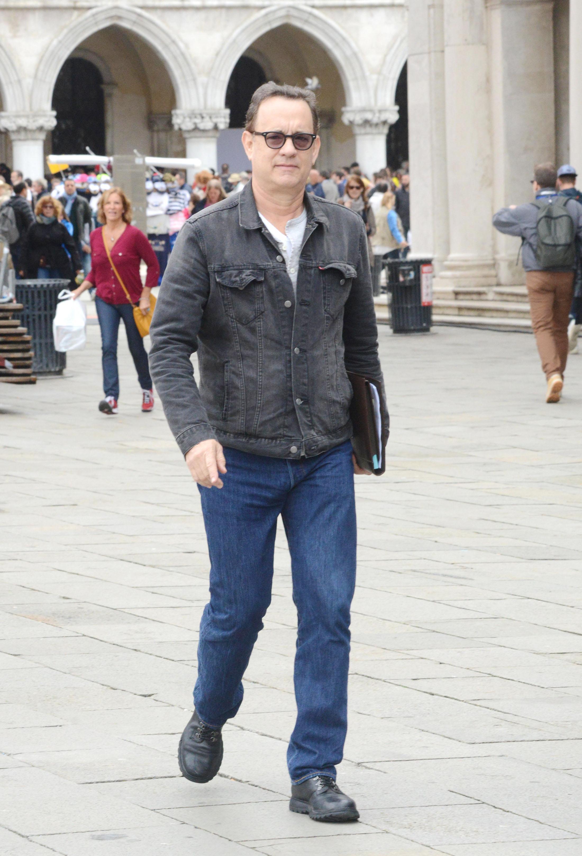 Том Хэнкс вВенеции, 2015