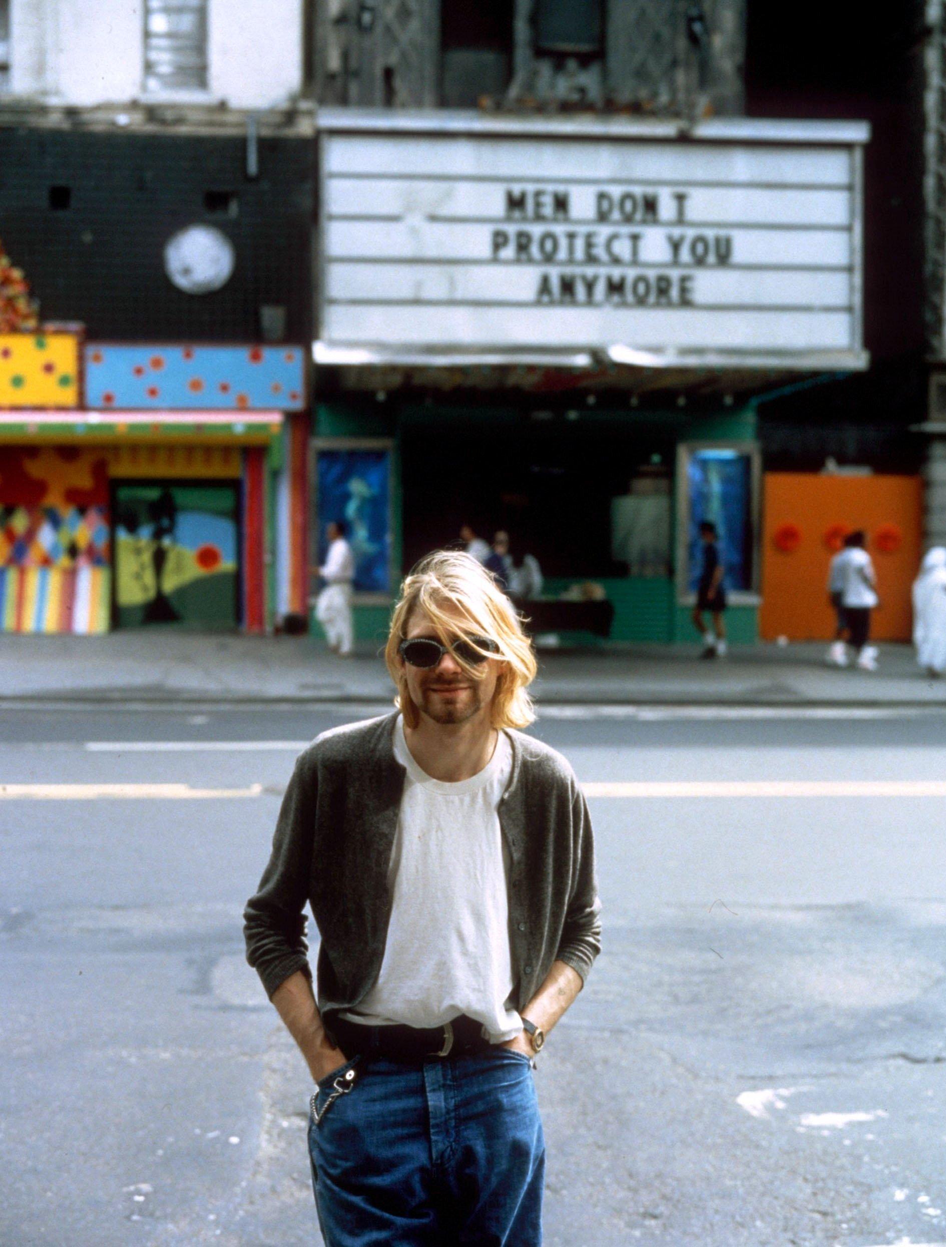 Курт Кобейн, 1993
