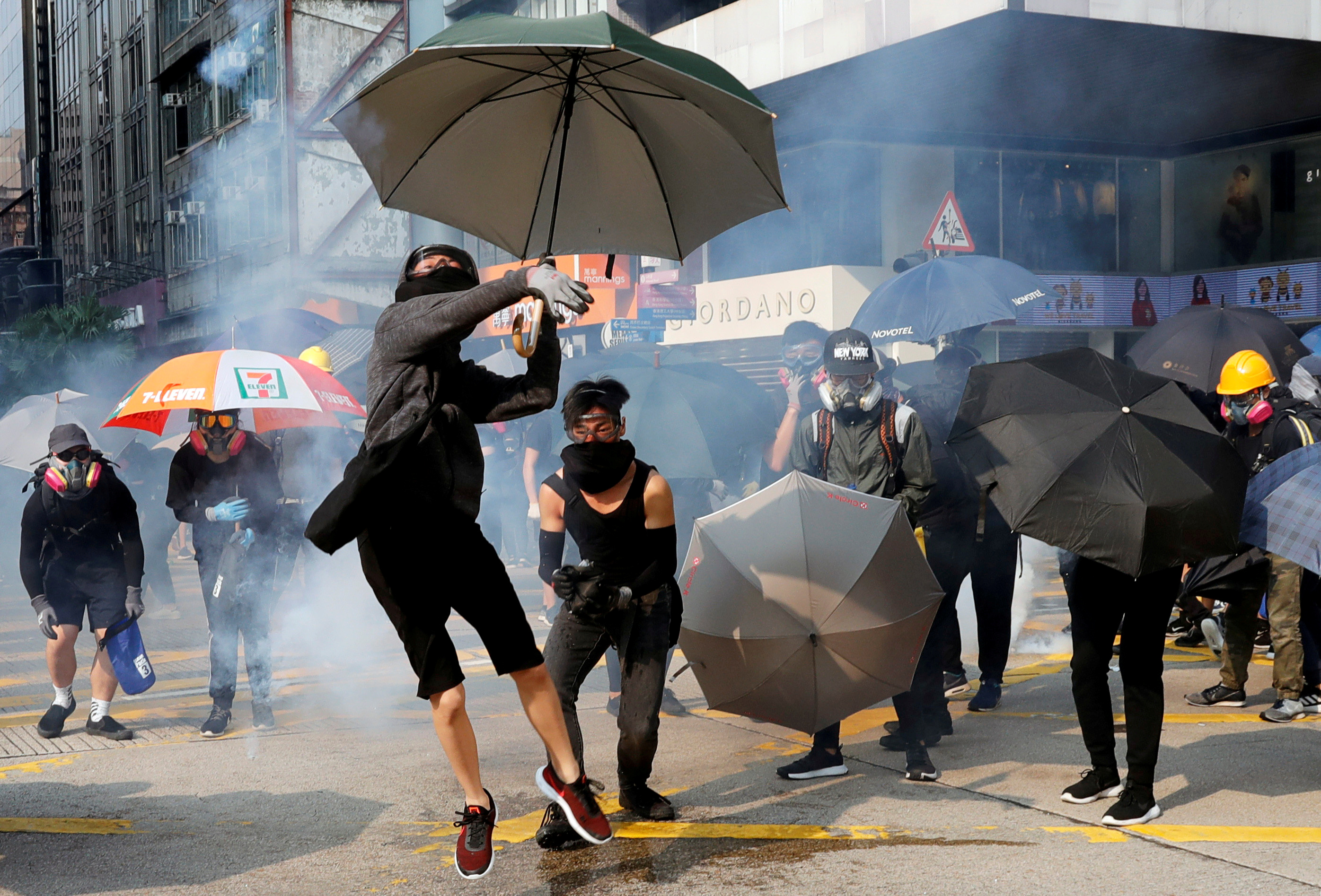 Протесты вГонконге