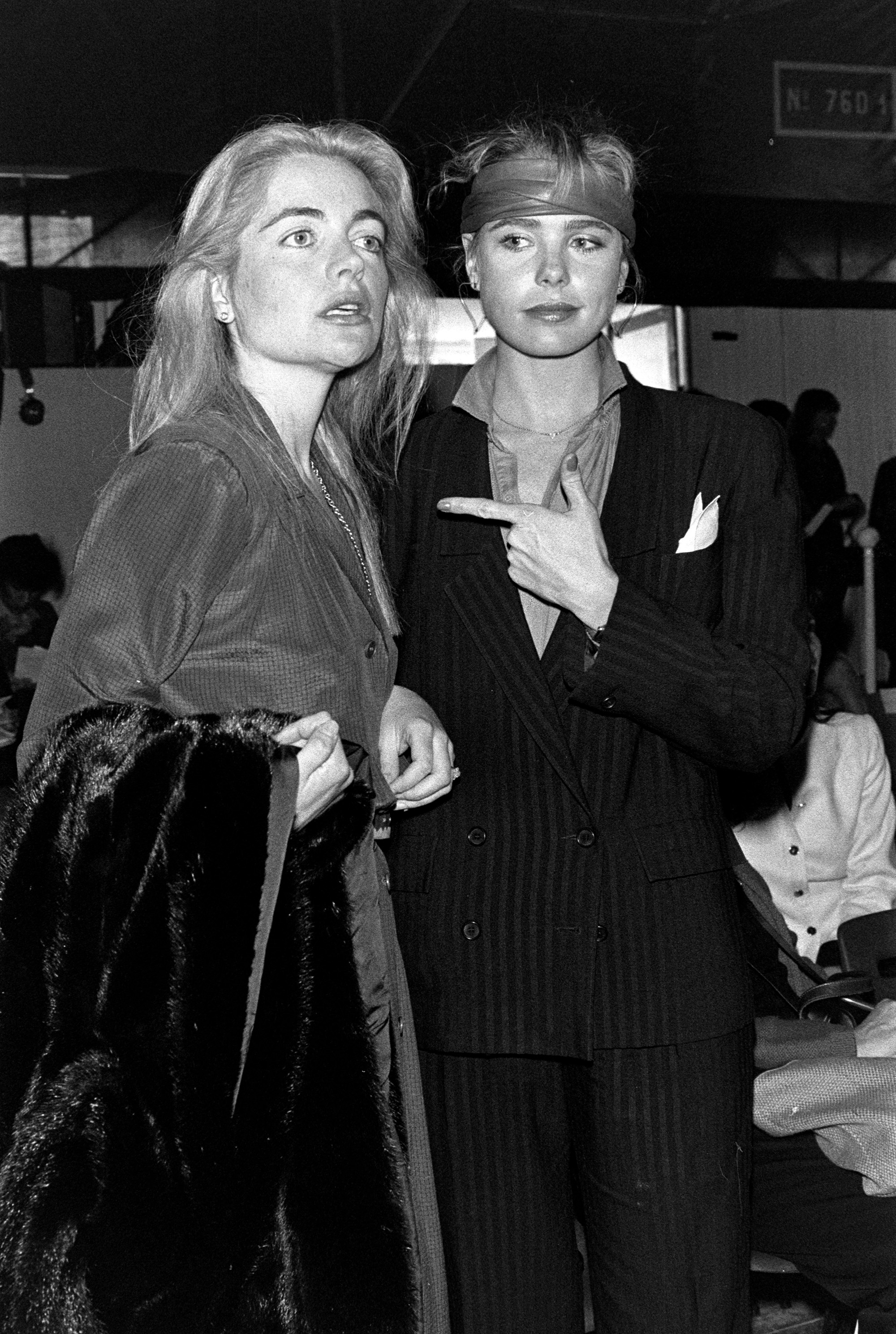Christian Dior Fall 1981 Ready to Wear Runway - 7 Apr 1981Mariel Hemingway and Margaux Hemingway attend the show7 Apr 1981
