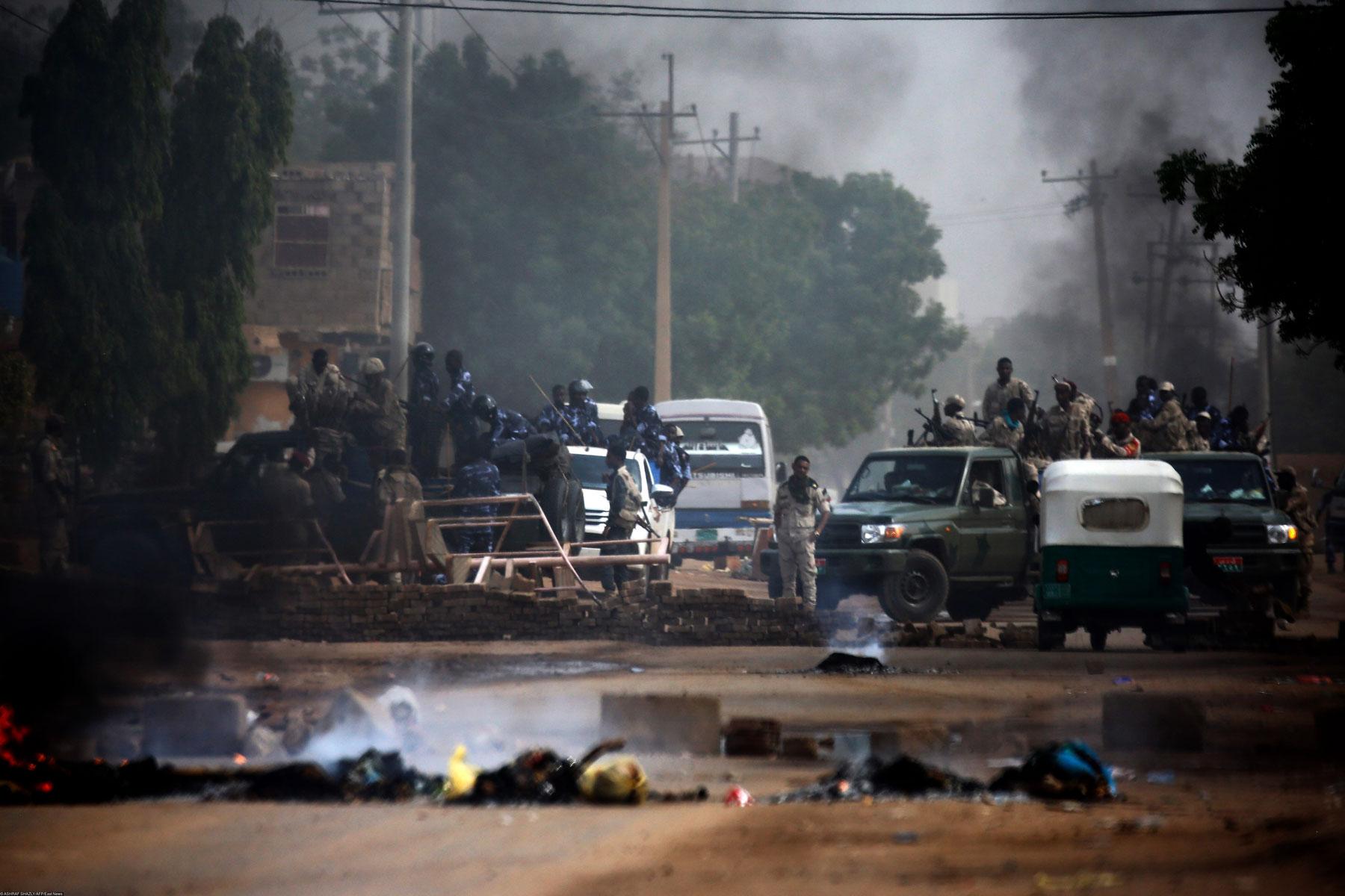Протесты вХартуме 3 июня