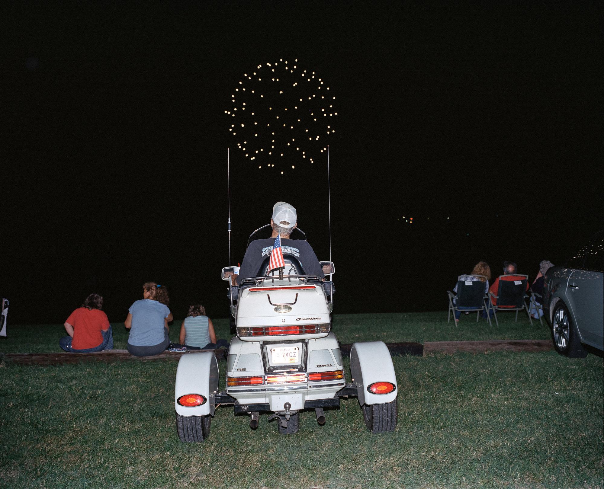 Празднование Дня независимости, Мэрисвилл, штат Канзас