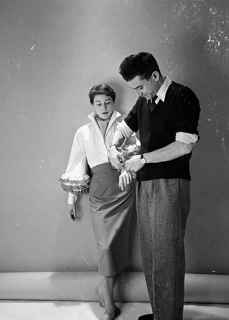 Беттина Грациани иЮбер де Живанши, 1952