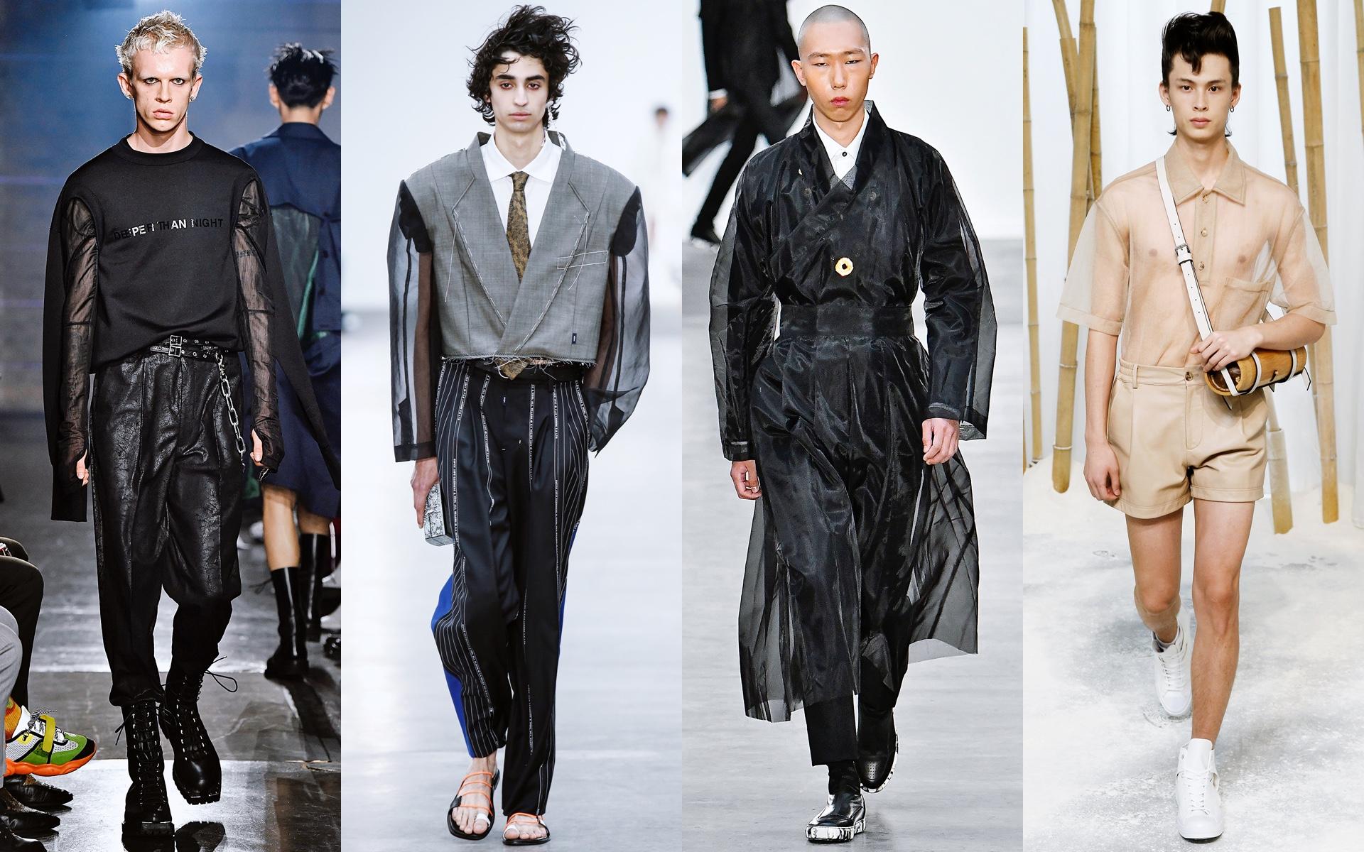 John Lawrence, Münn, HLA x AEX, Feng Chen Wang, весна–лето 2020