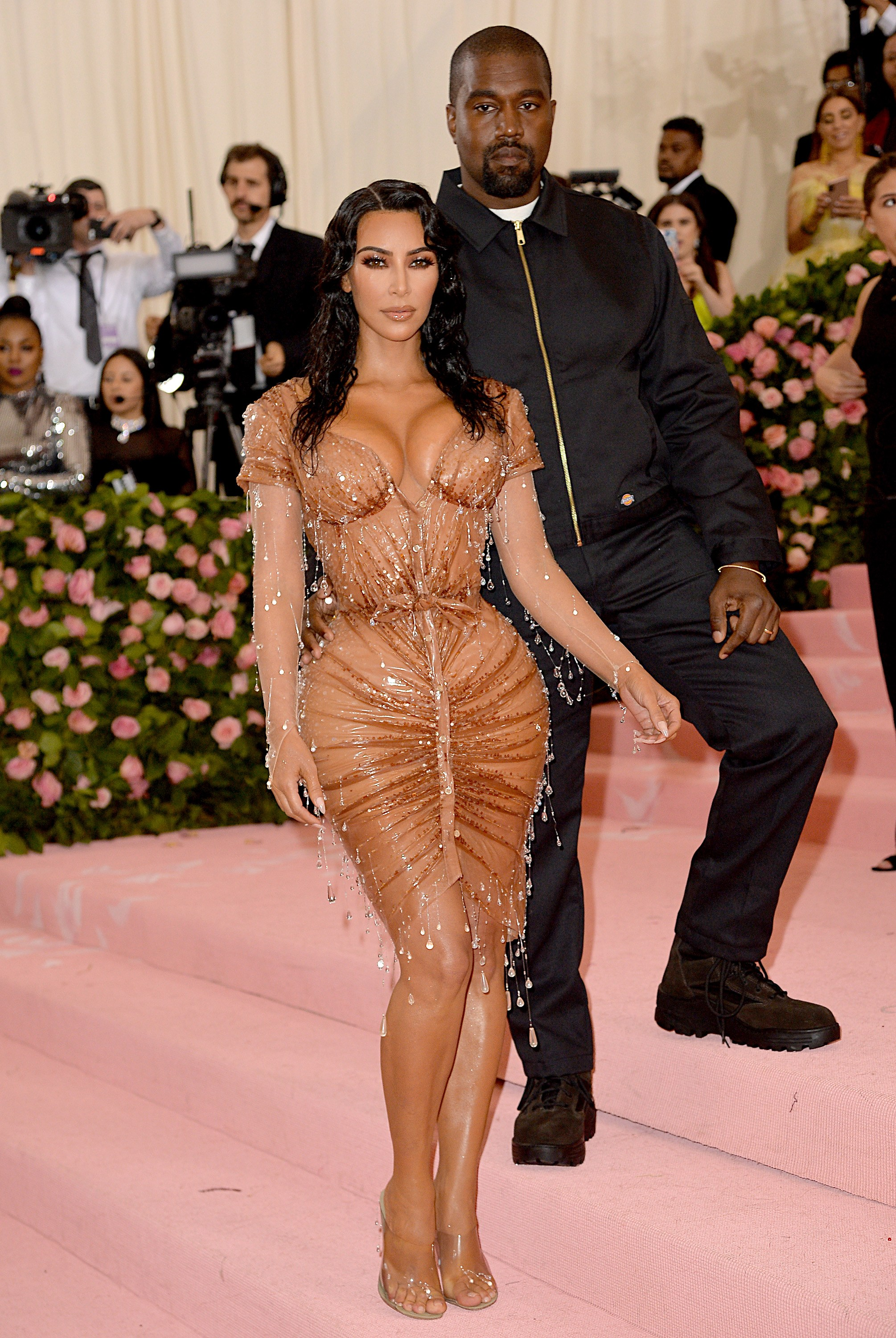 Kim Kardashian West, Kanye West At Arrivals For Camp: Notes On Fashion Met Gala Costume Institute Annual Benefit - Part 3, Metropolitan Museum Of Art, New York, NY May 6, 2019. Photo By:КРЕДИТ Kristin Callahan/Everett Collection/Legion Media