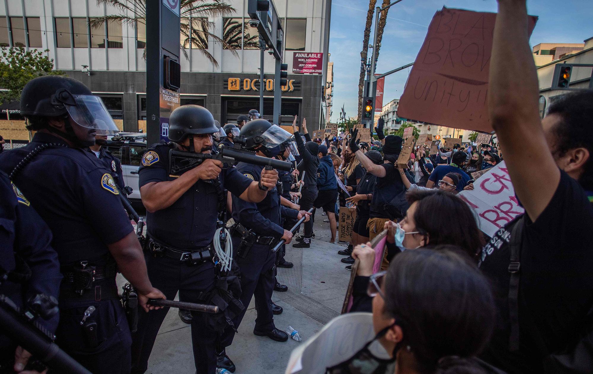 Лонг-Бич, округ Лос-Анджелес, 31 мая.