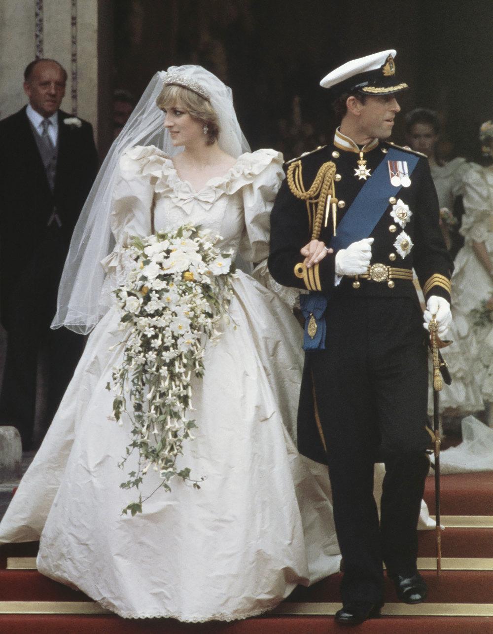 Свадьба леди Дианы Спенсер ипринца Чарльза, Лондон, июль 1981