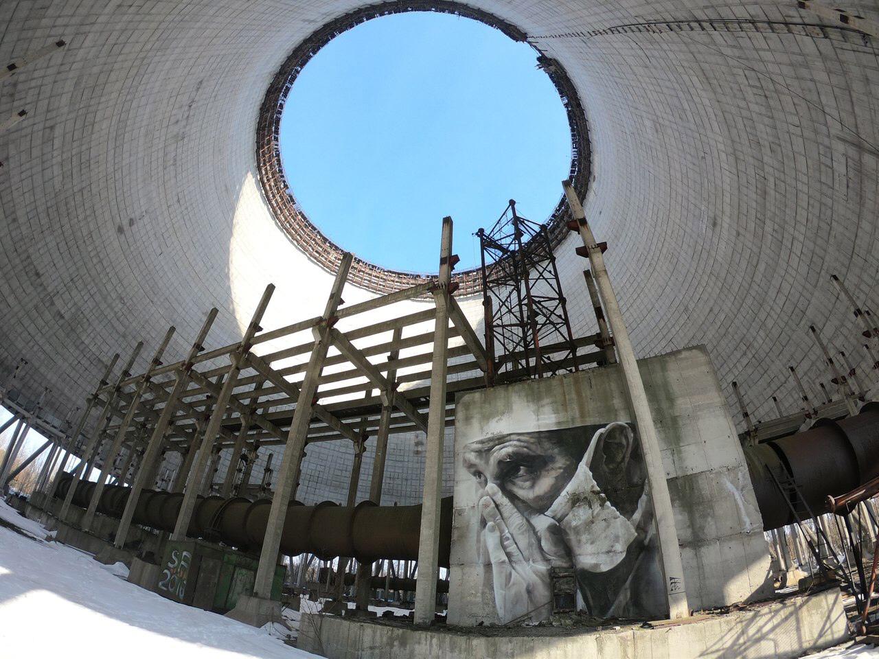 Градирня Чернобыльской ЧАЭС