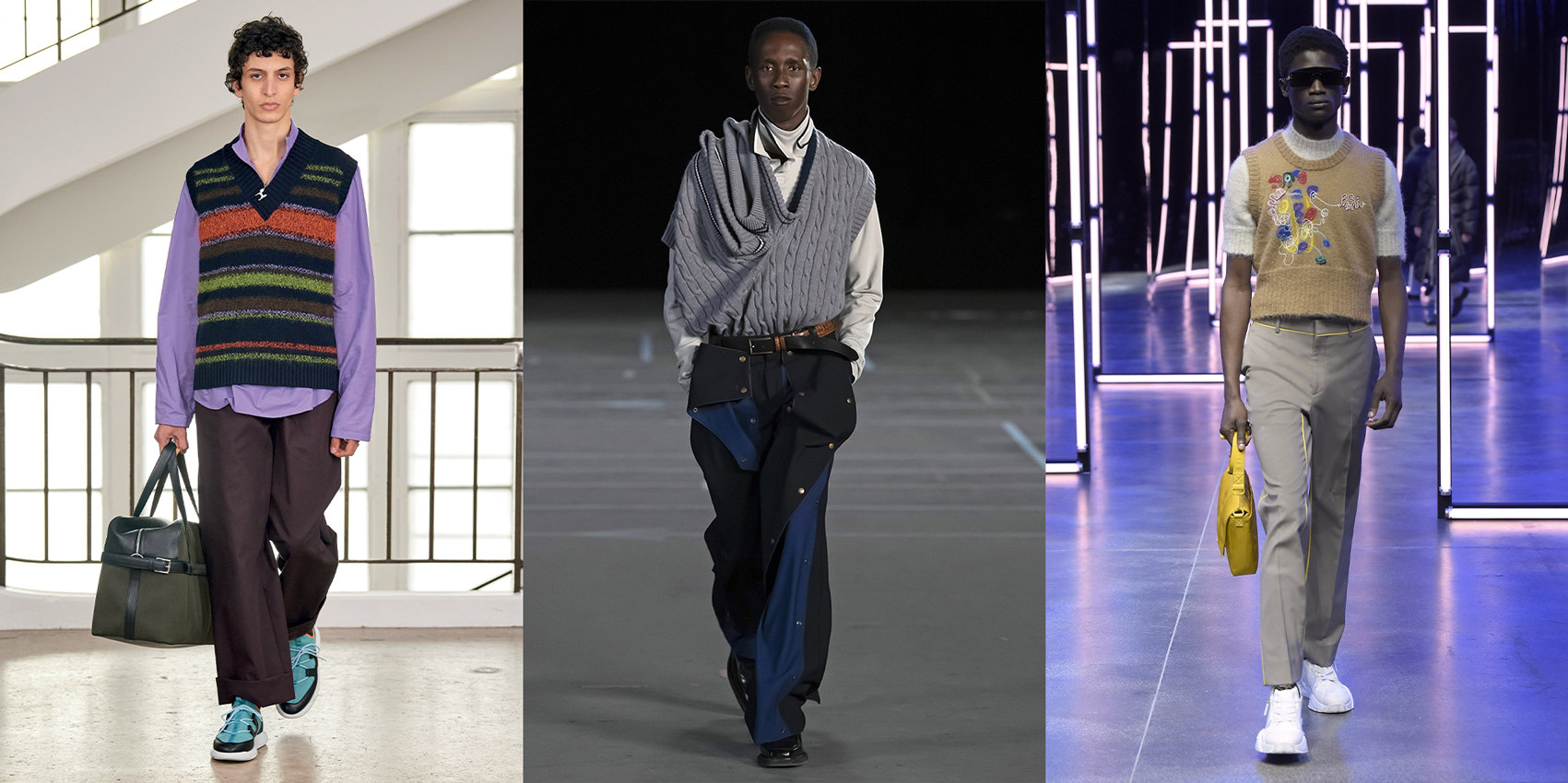 Hermès, Y/Project, Fendi осень-зима 2021