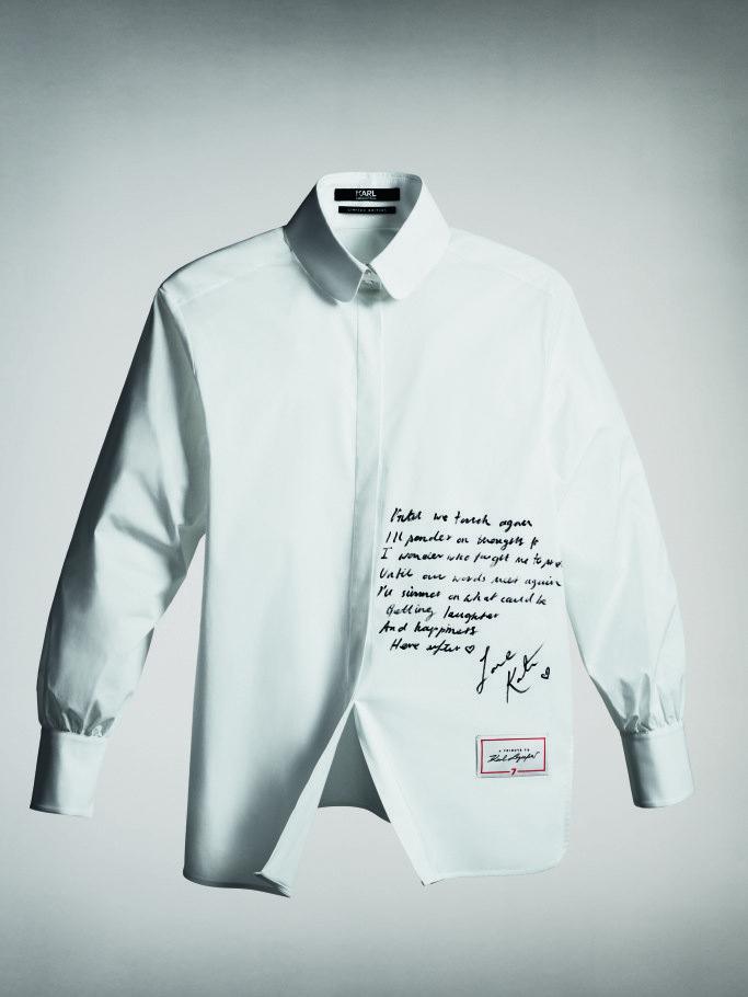 Рубашка авторства Кейт Мосс