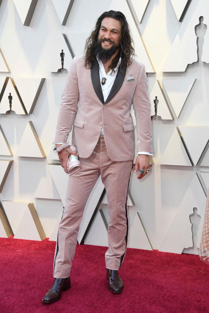 Джейсон Момоа на«Оскаре»