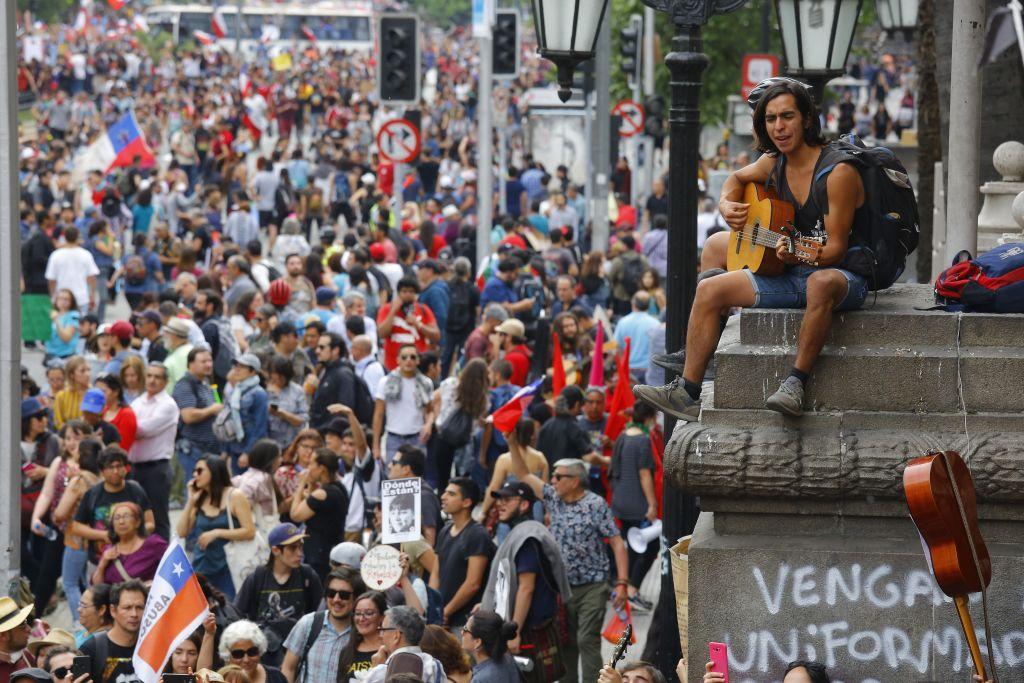 Протесты вЧили