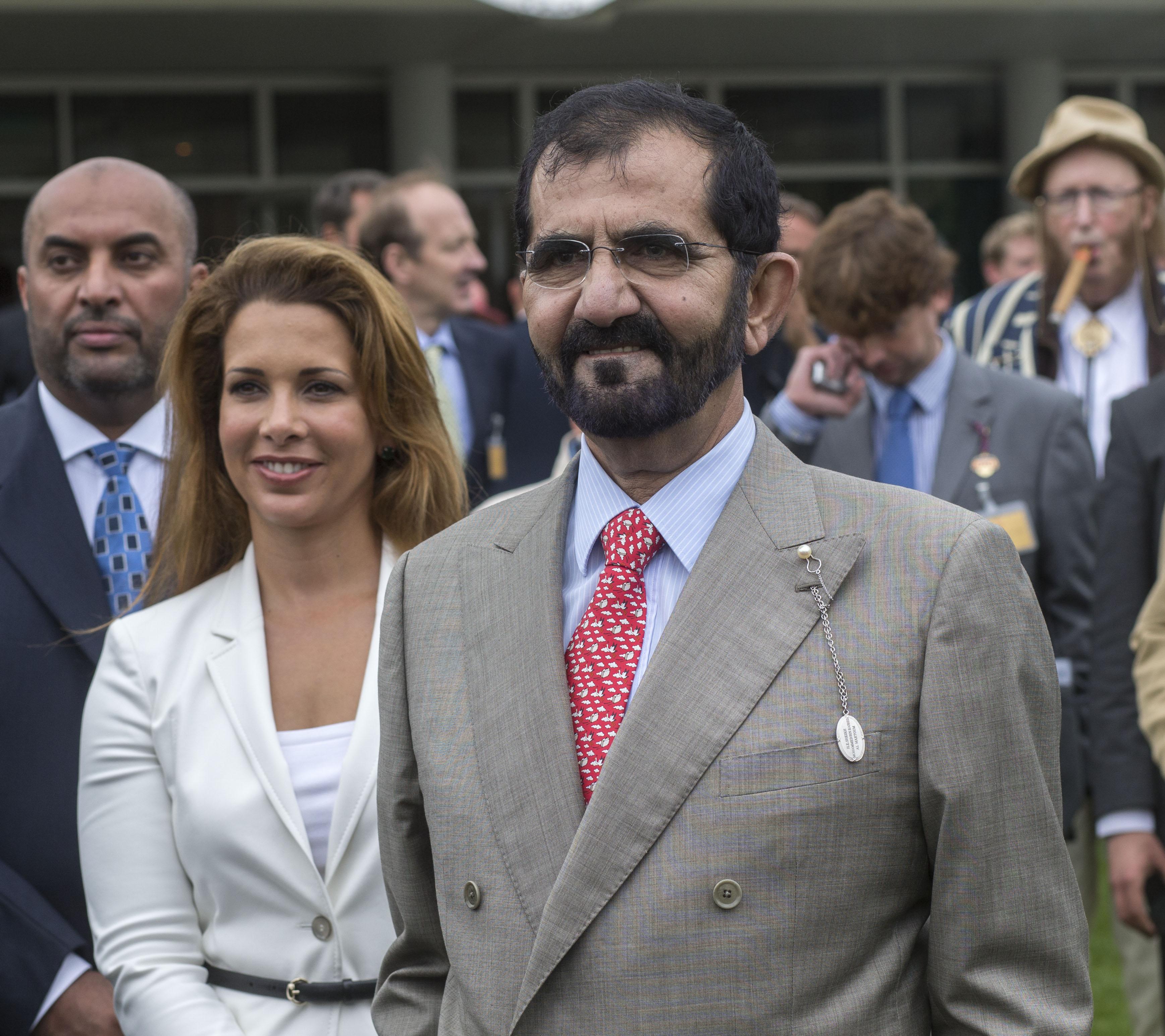 Шейх Дубая Мухаммед аль-Мактум ипринцесса Хайя бинт аль-Хусейн