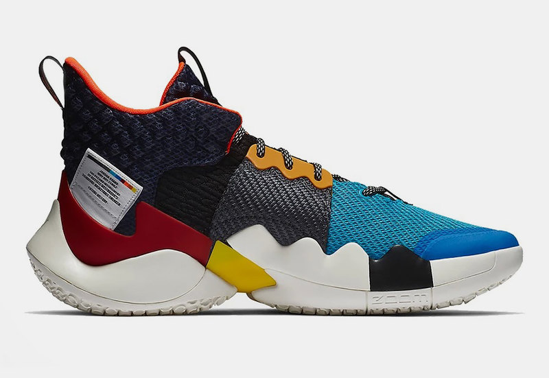 "Jordan Why Not Zer0.2 ""Multi-Color/Total Crimson-Sail"""